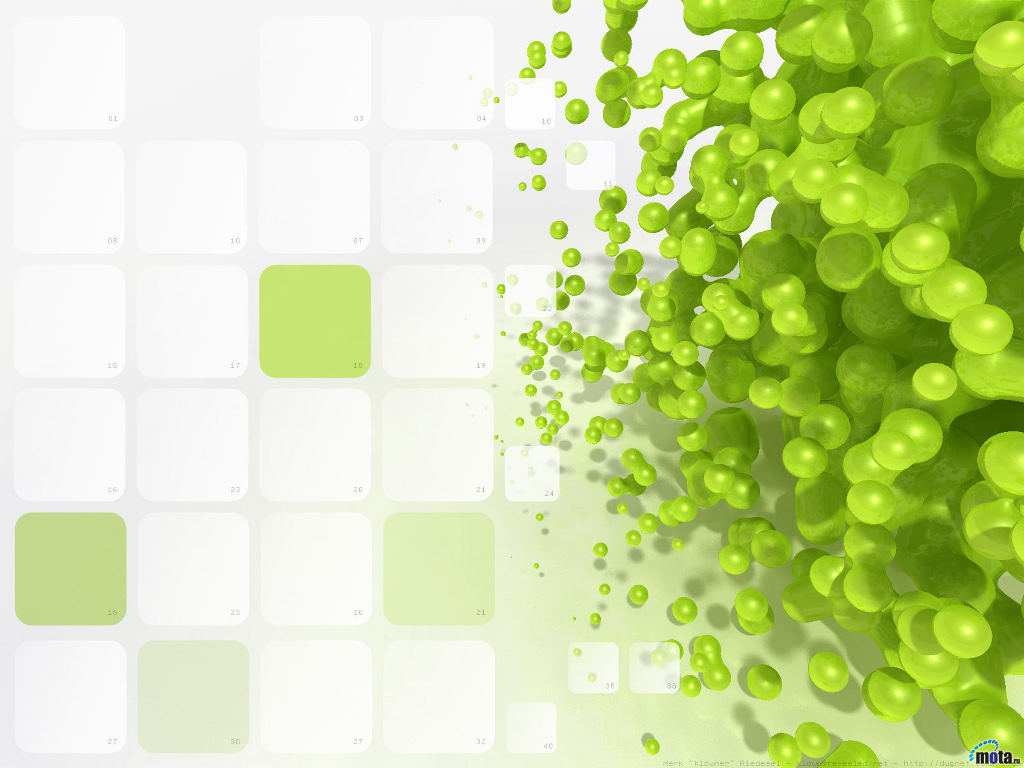 Lime Green Molecule Backgrounds Wallpapers