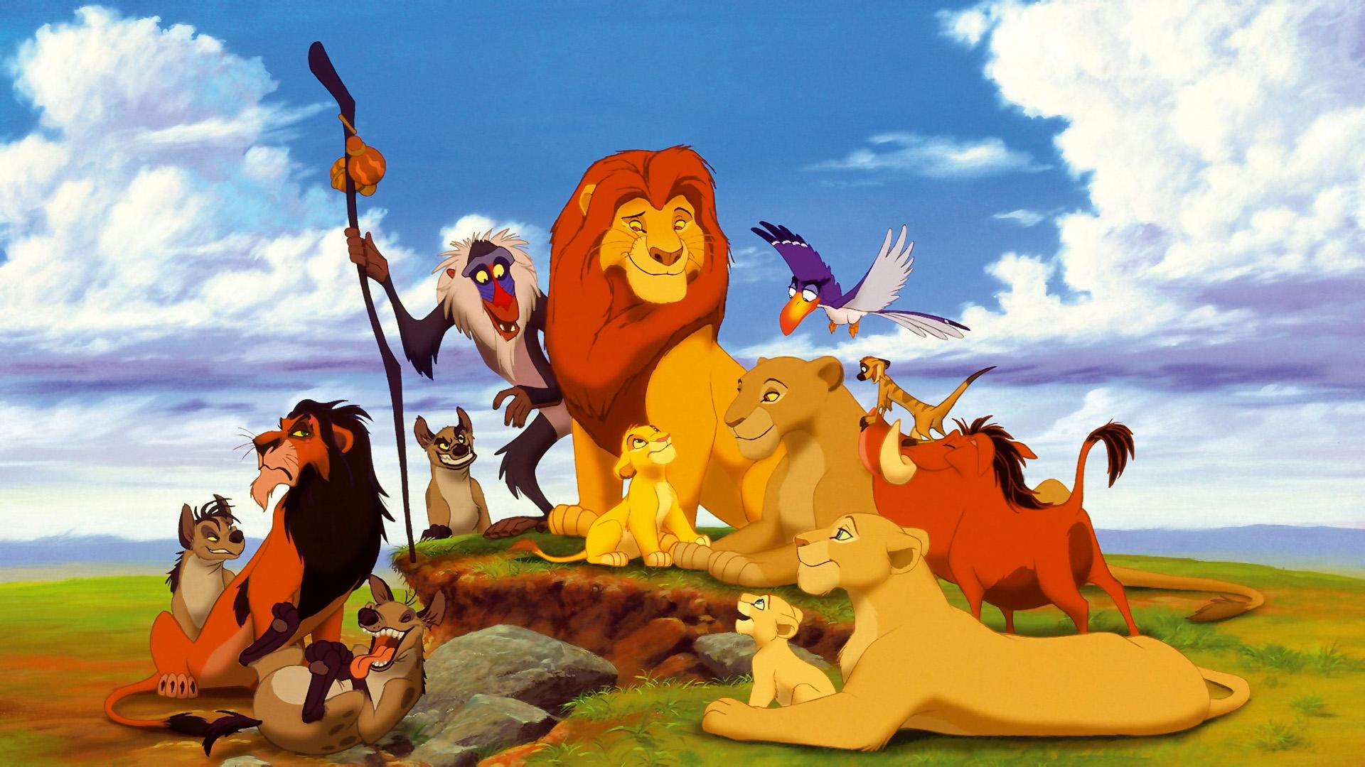 1920x1080 Cartoon Lion King wallpaper