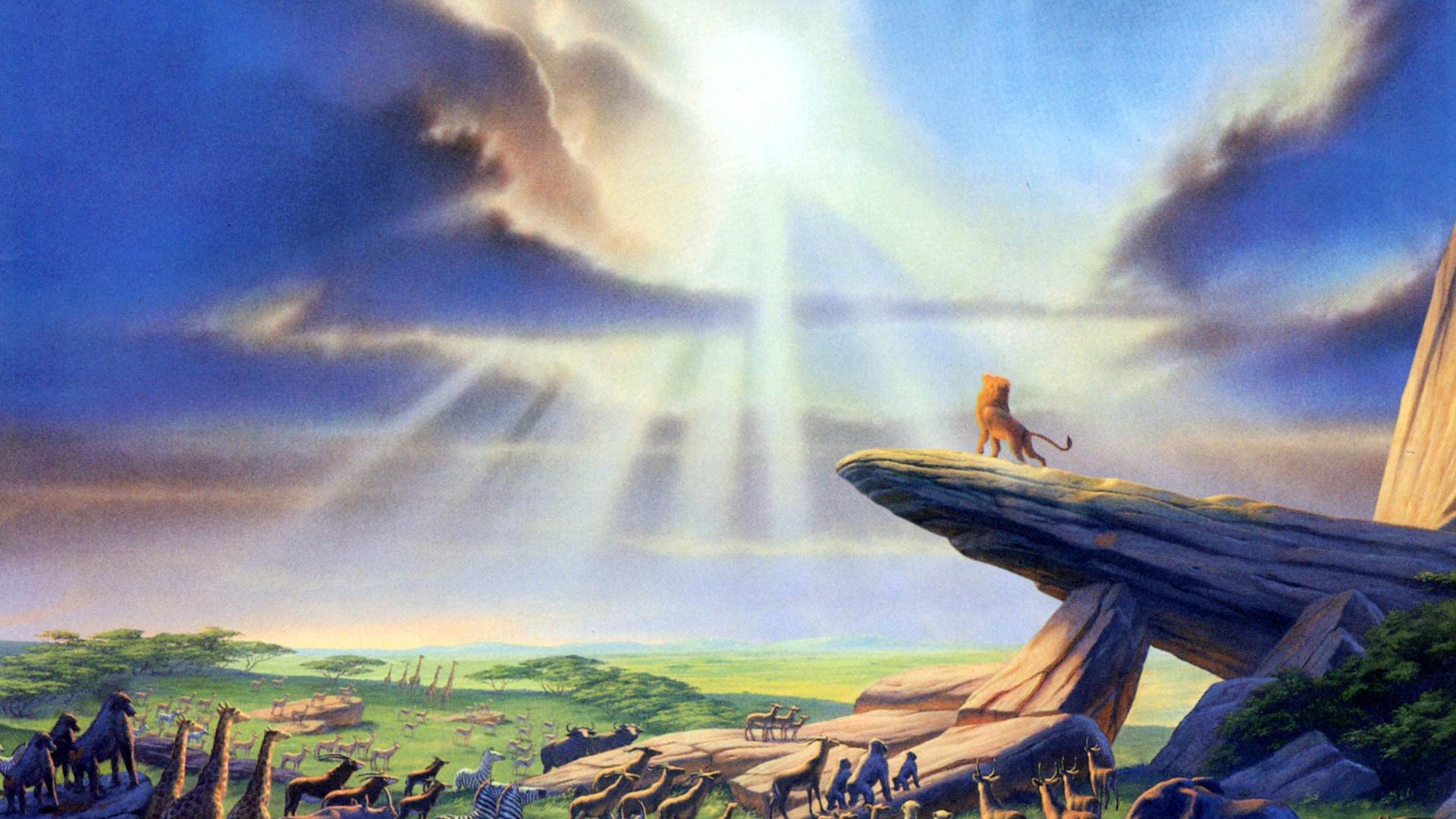 Magritte Lion King Disney Hd Widescreen Desktop Wallpaper