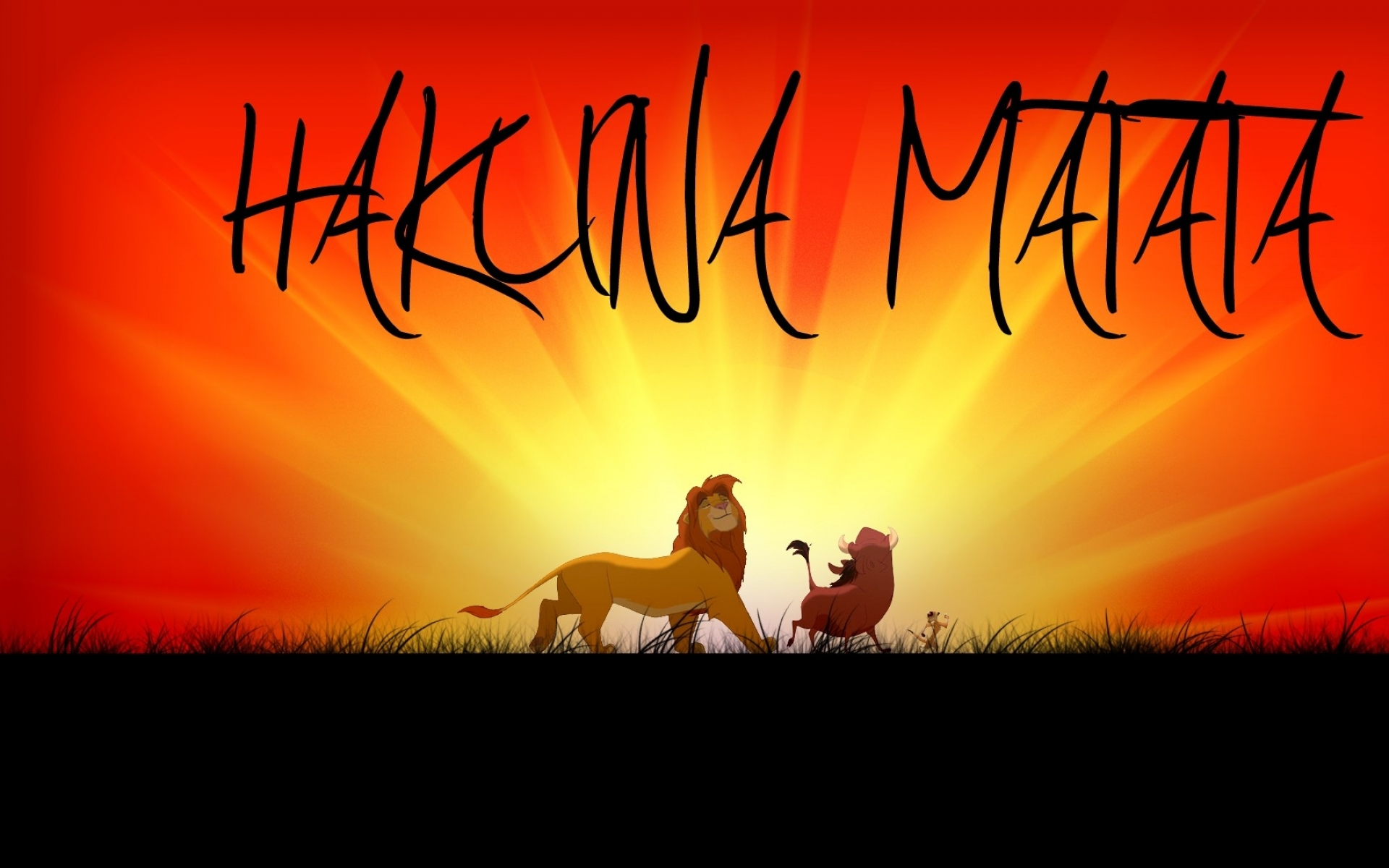 Lion King: Hakuna Matata HD Wallpaper