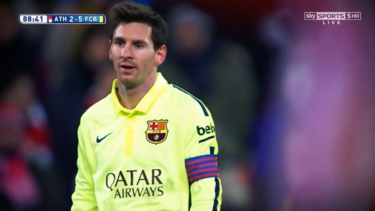 Lionel Messi vs Athletic Bilbao (Away) 14-15 HD 720p By LionelMessi10i