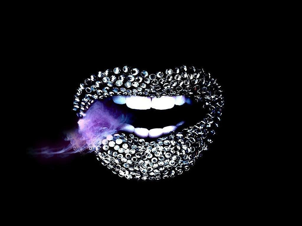 Comments. Lips Wallpaper ...