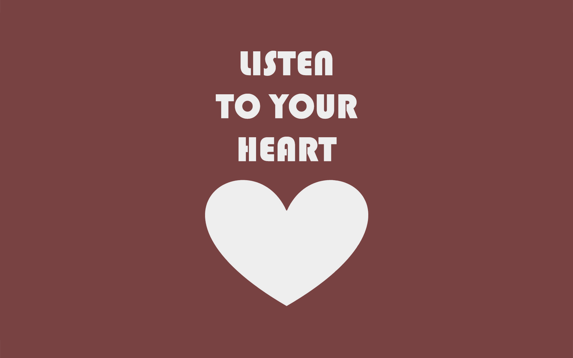 Listen To Your Heart Art