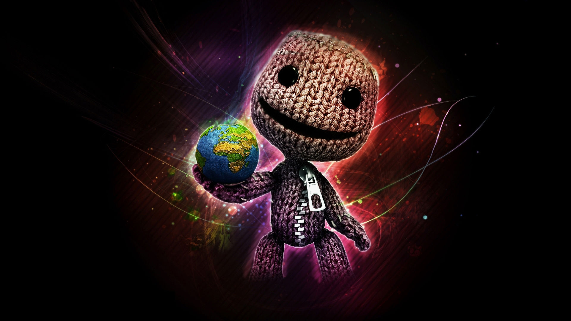 Little Big Planet Logo Wallpaper