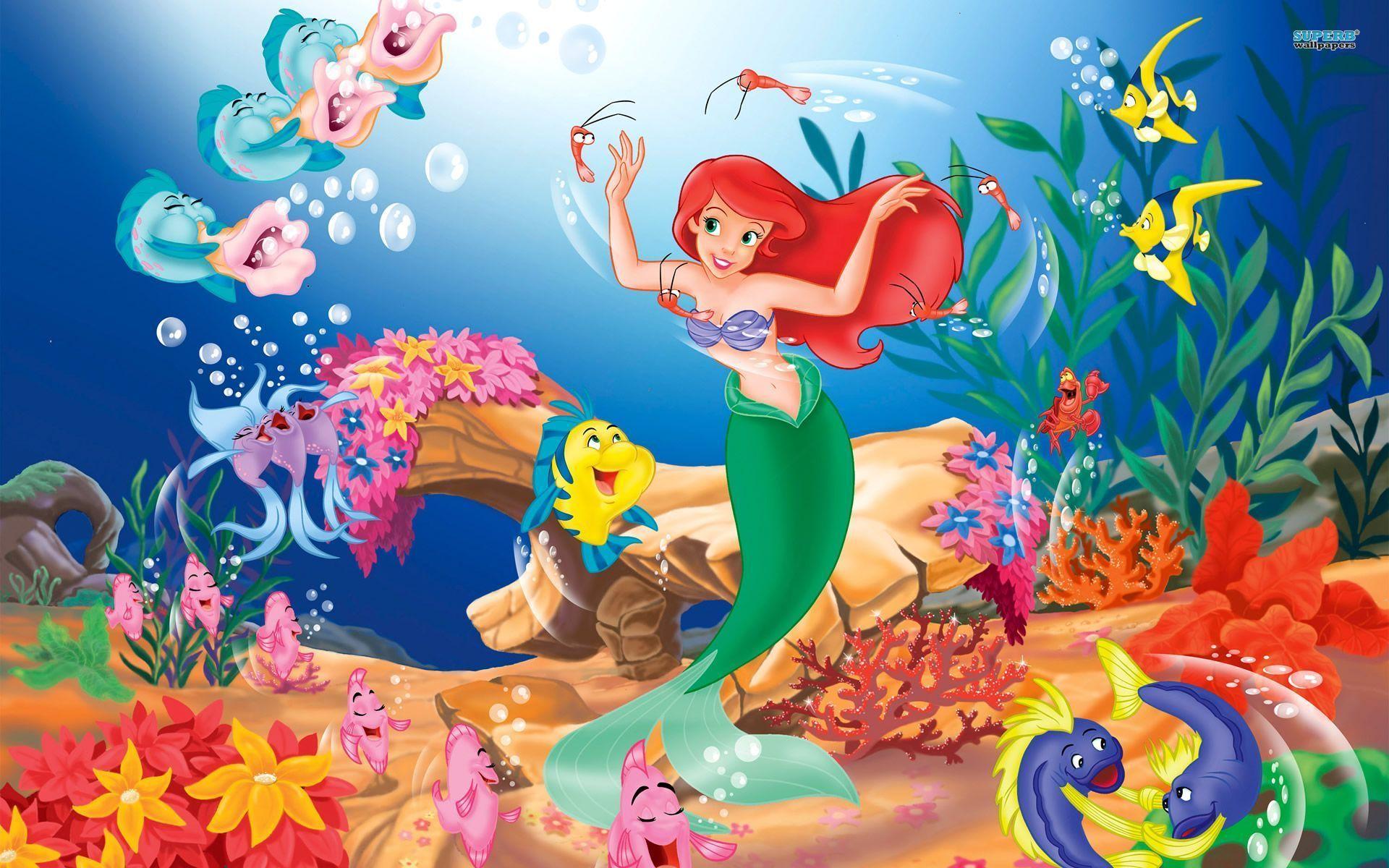Little Mermaid Wallpaper