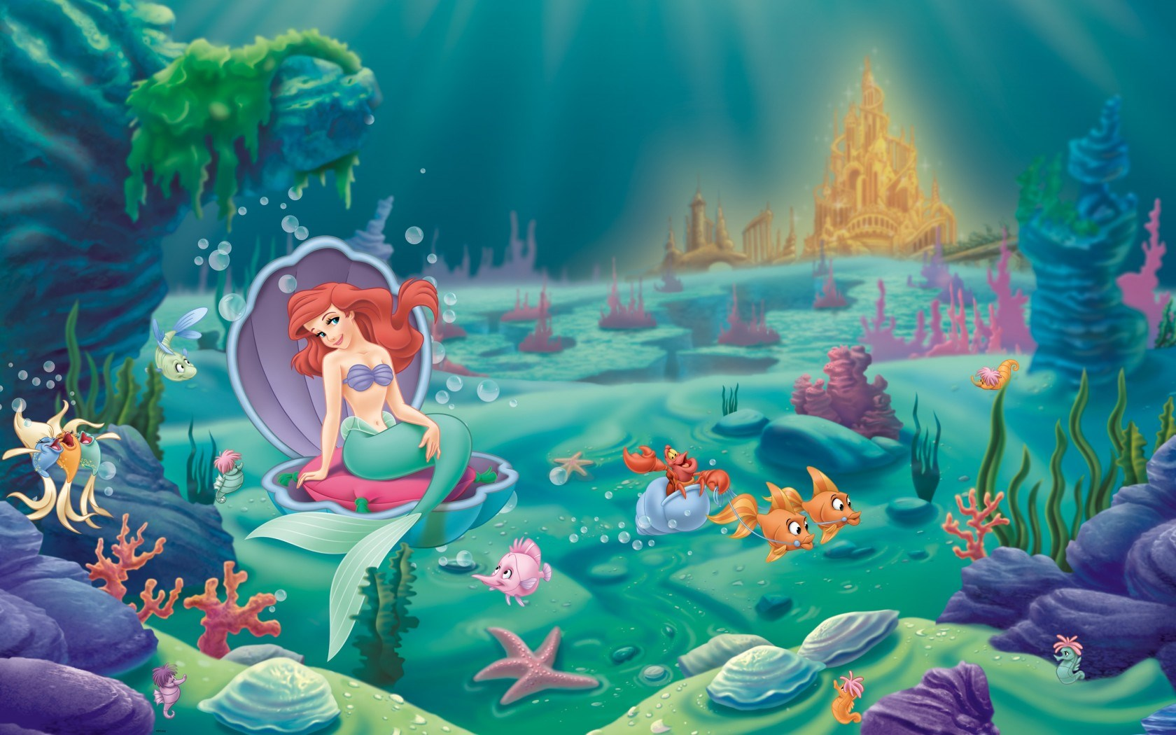 The Little Mermaid Ariel Cartoon