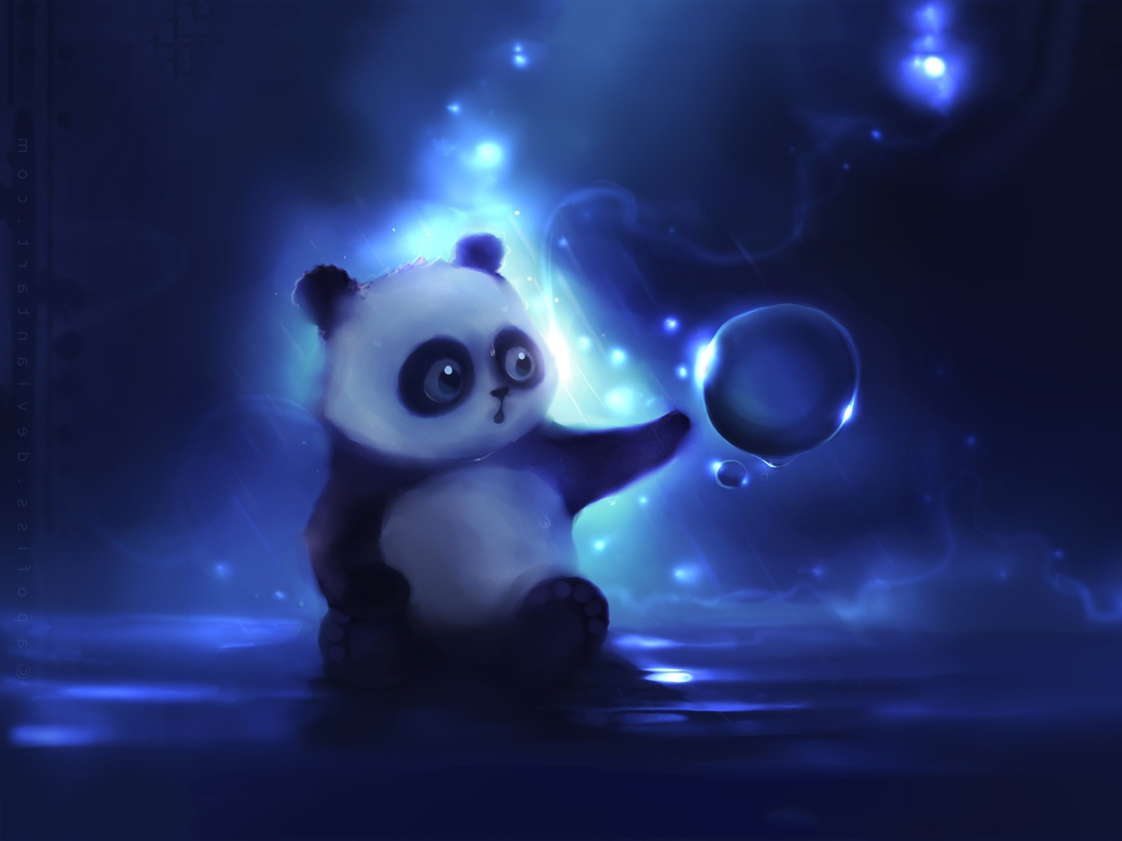 Little panda art