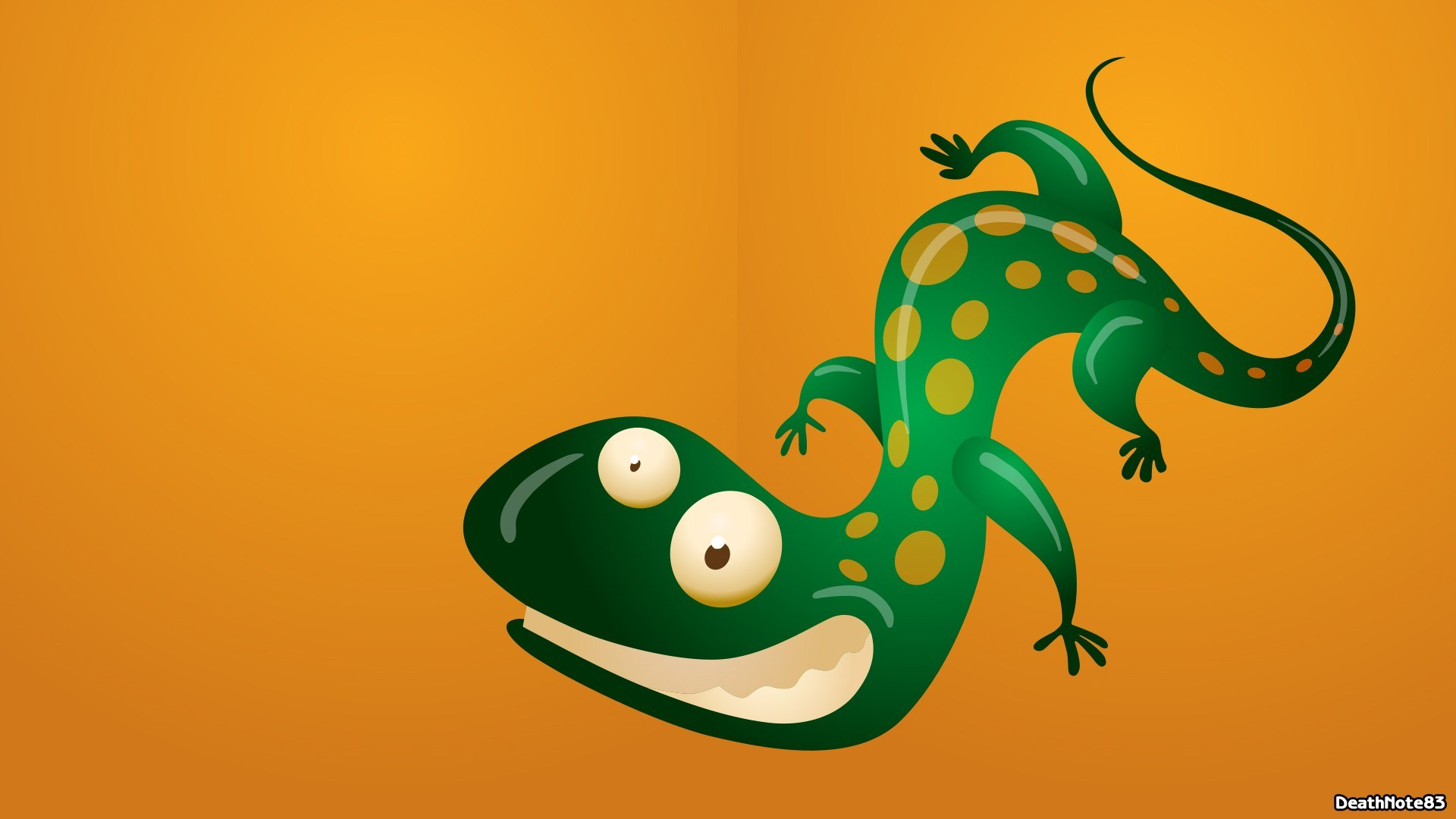 Lizard Cartoon Art Funny