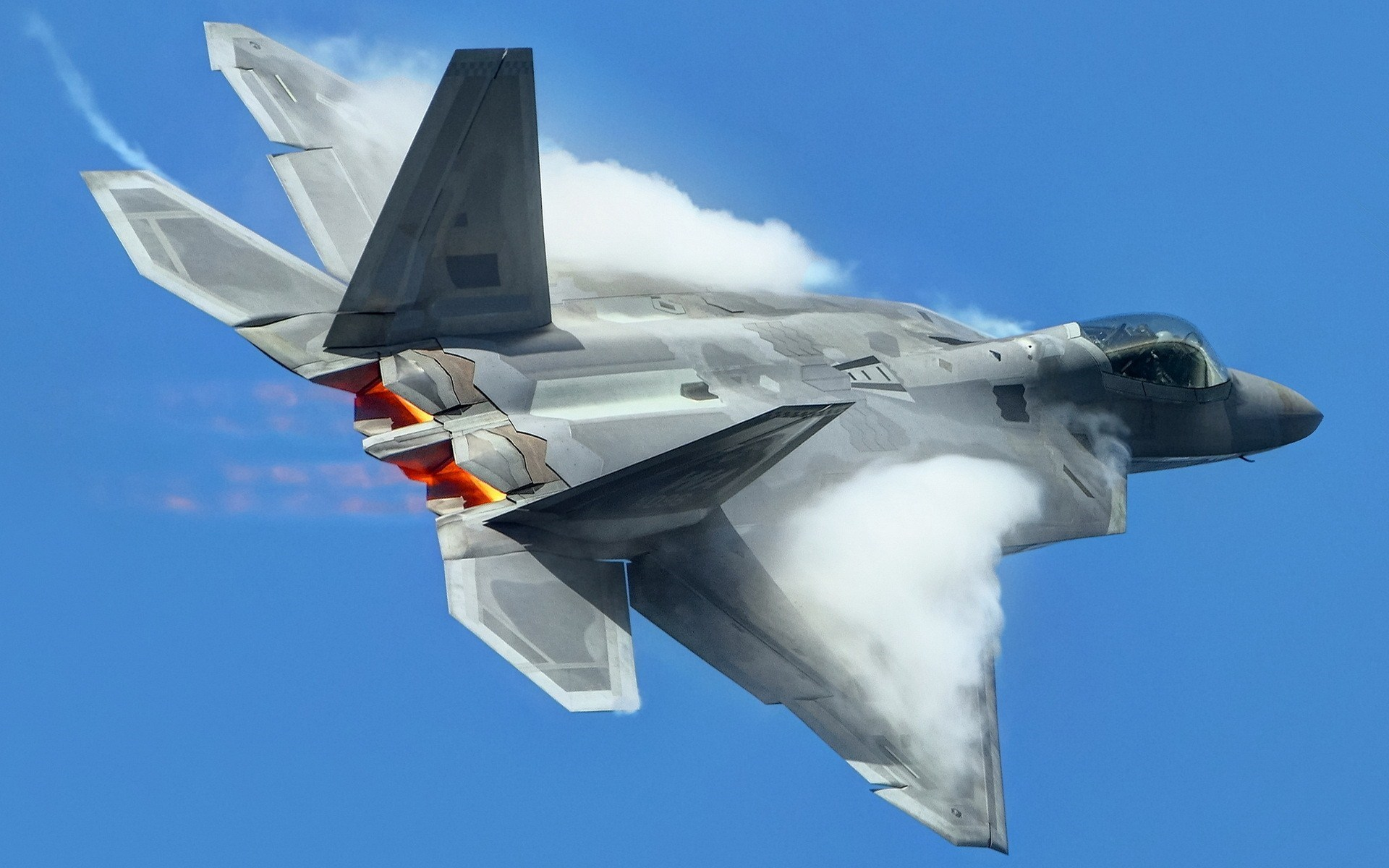 Lockheed Martin F-22 Raptor Fighter Aircraft