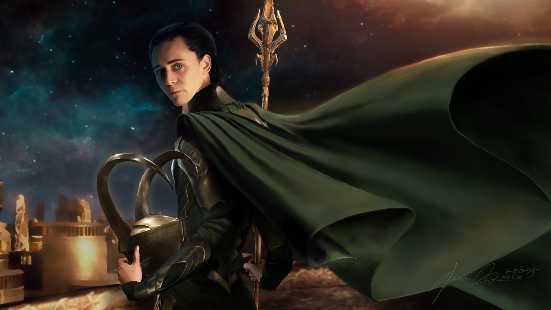Loki -In My Darkest Hour by duyeqing