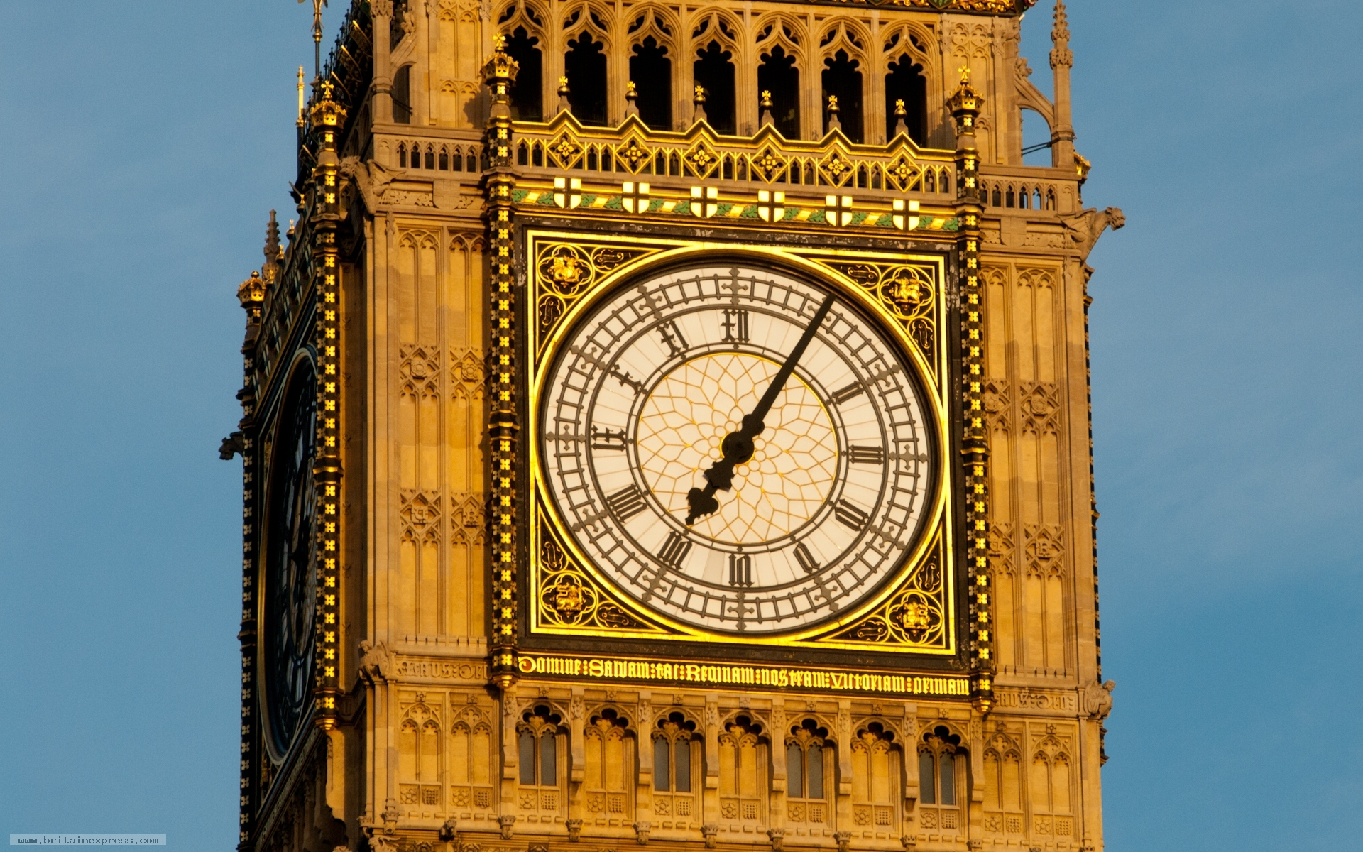 London big ben clock