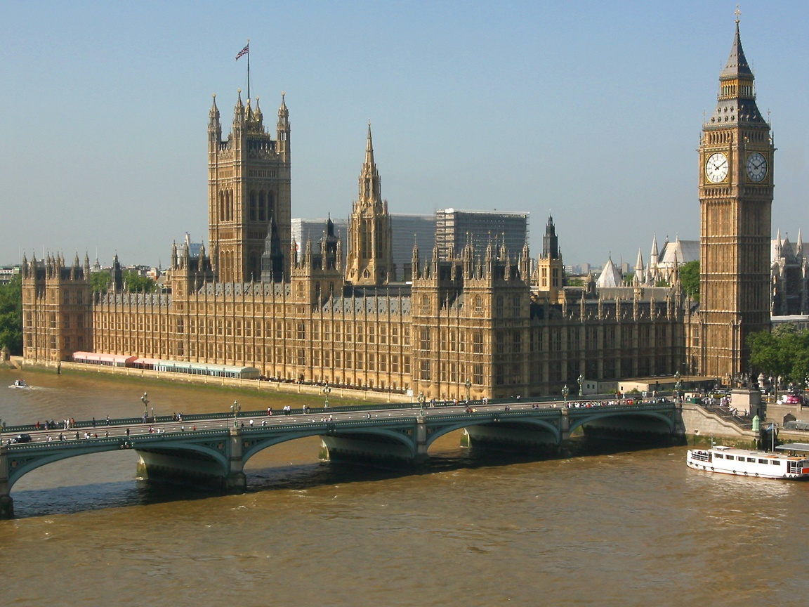 London houses of parlament