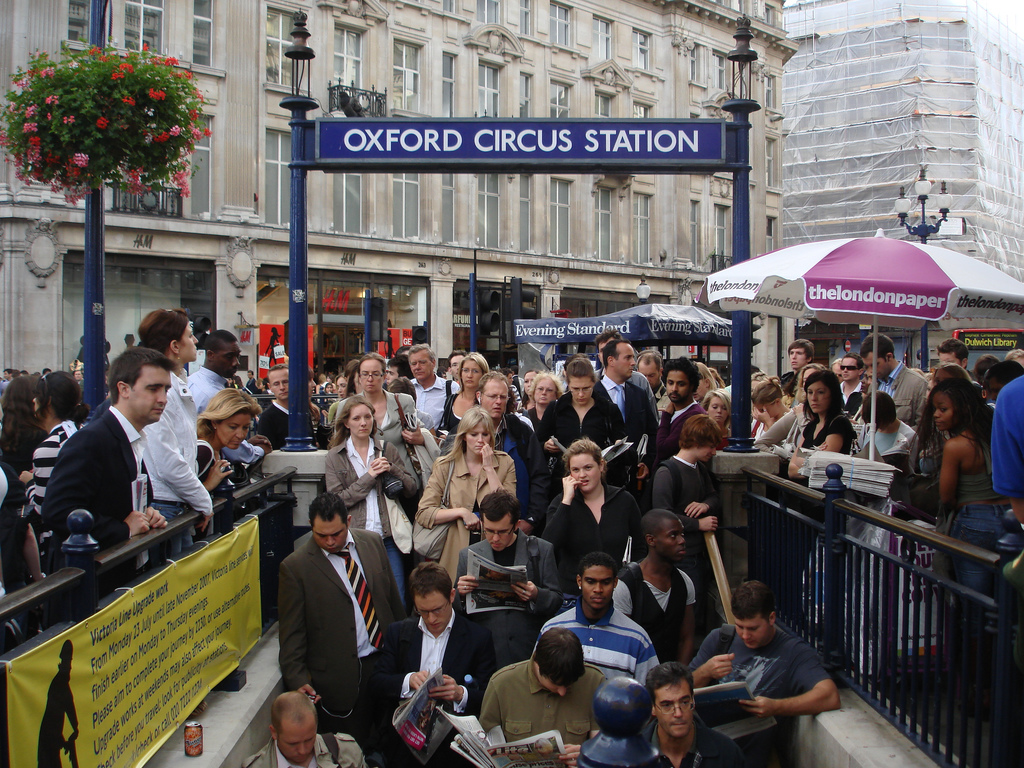by Jamrose33 London tube station at rush hour,yikes! | by Jamrose33