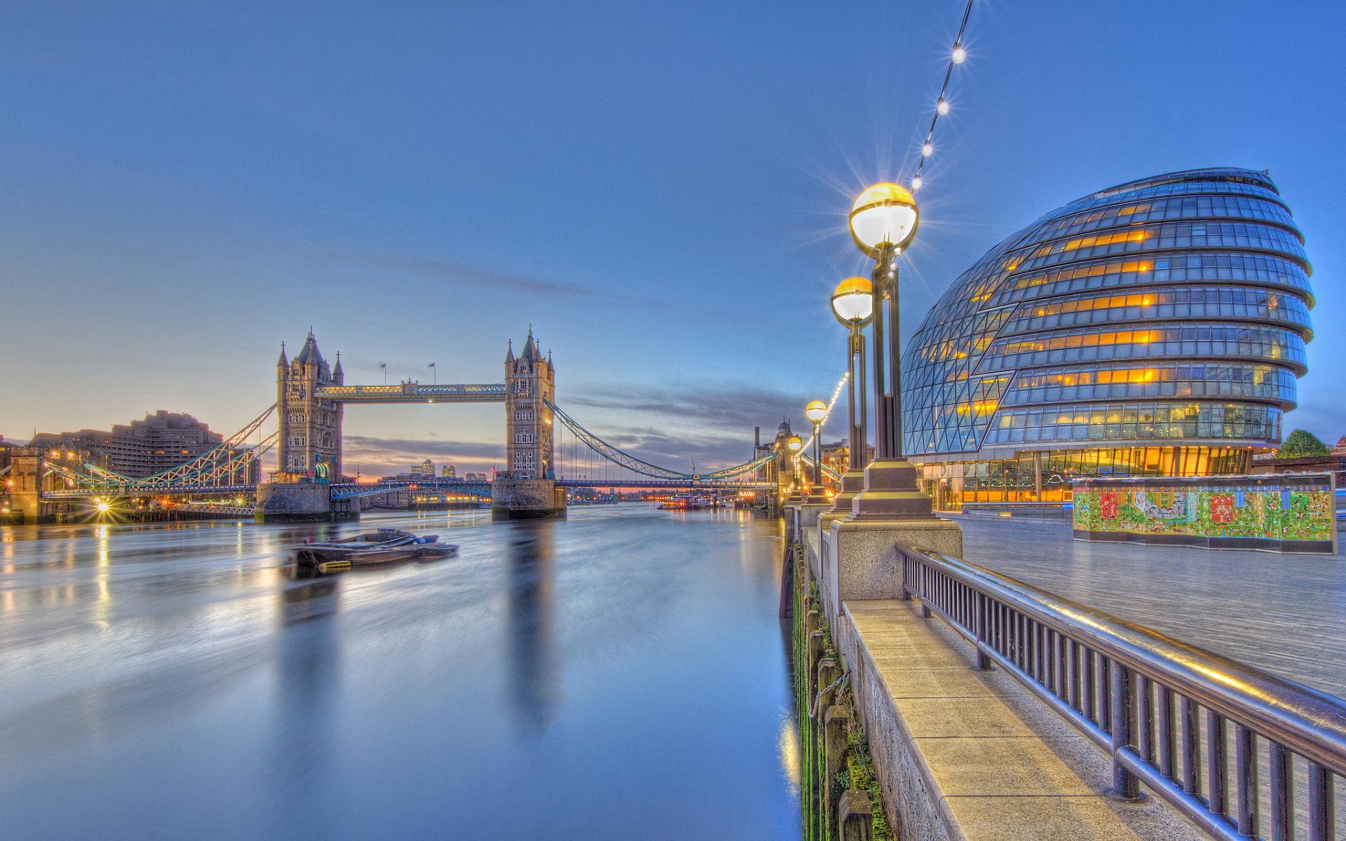 London thames city hall