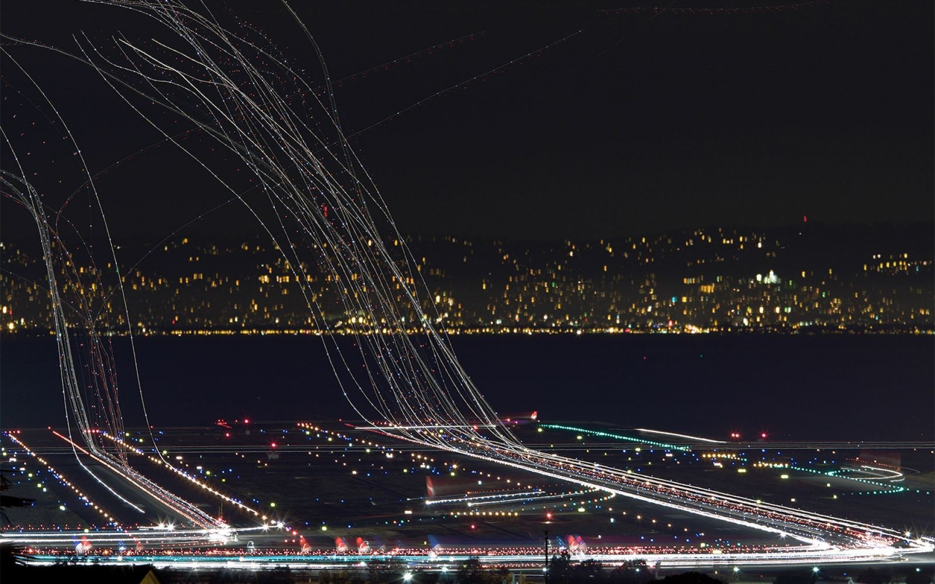 since you liked the long exposure airport shot, here's another one!