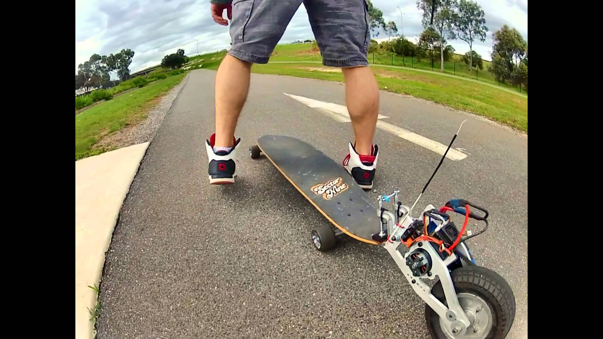 Electric Longboard Prototype Madness!