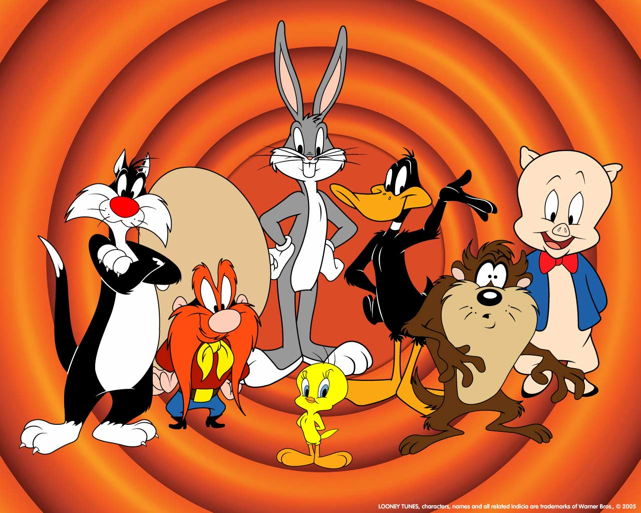 HD Wallpaper | Background ID:445517. 1280x1024 Cartoon Looney Tunes