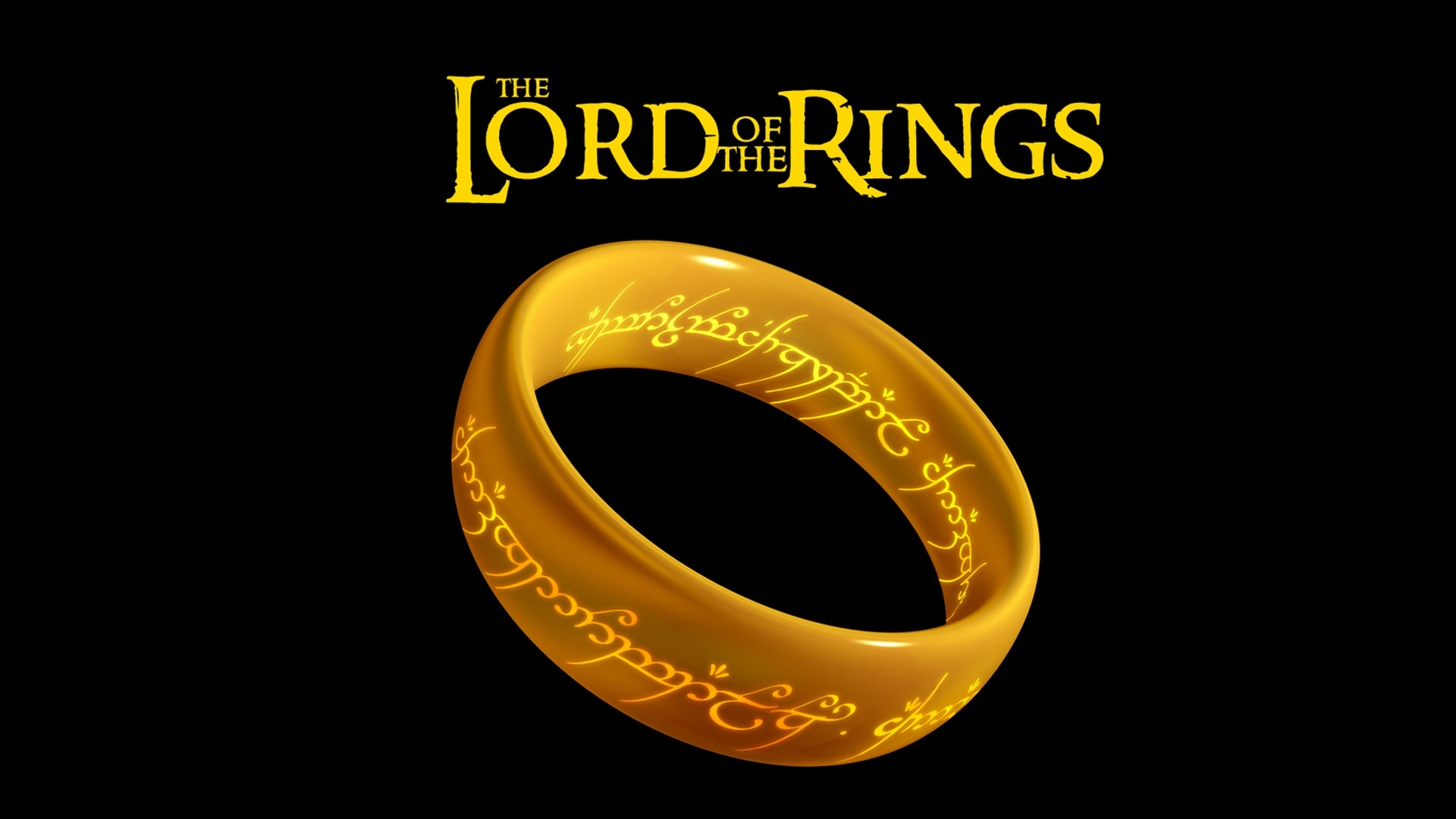 ... Lord Of The Rings Ring