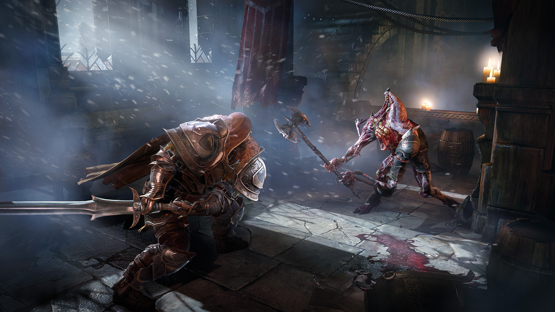 October's action-RPG Lords of the Fallen will run in 1080p on PlayStation 4 and 900p on Xbox One, creative director Tomasz Gop confirmed in an interview ...