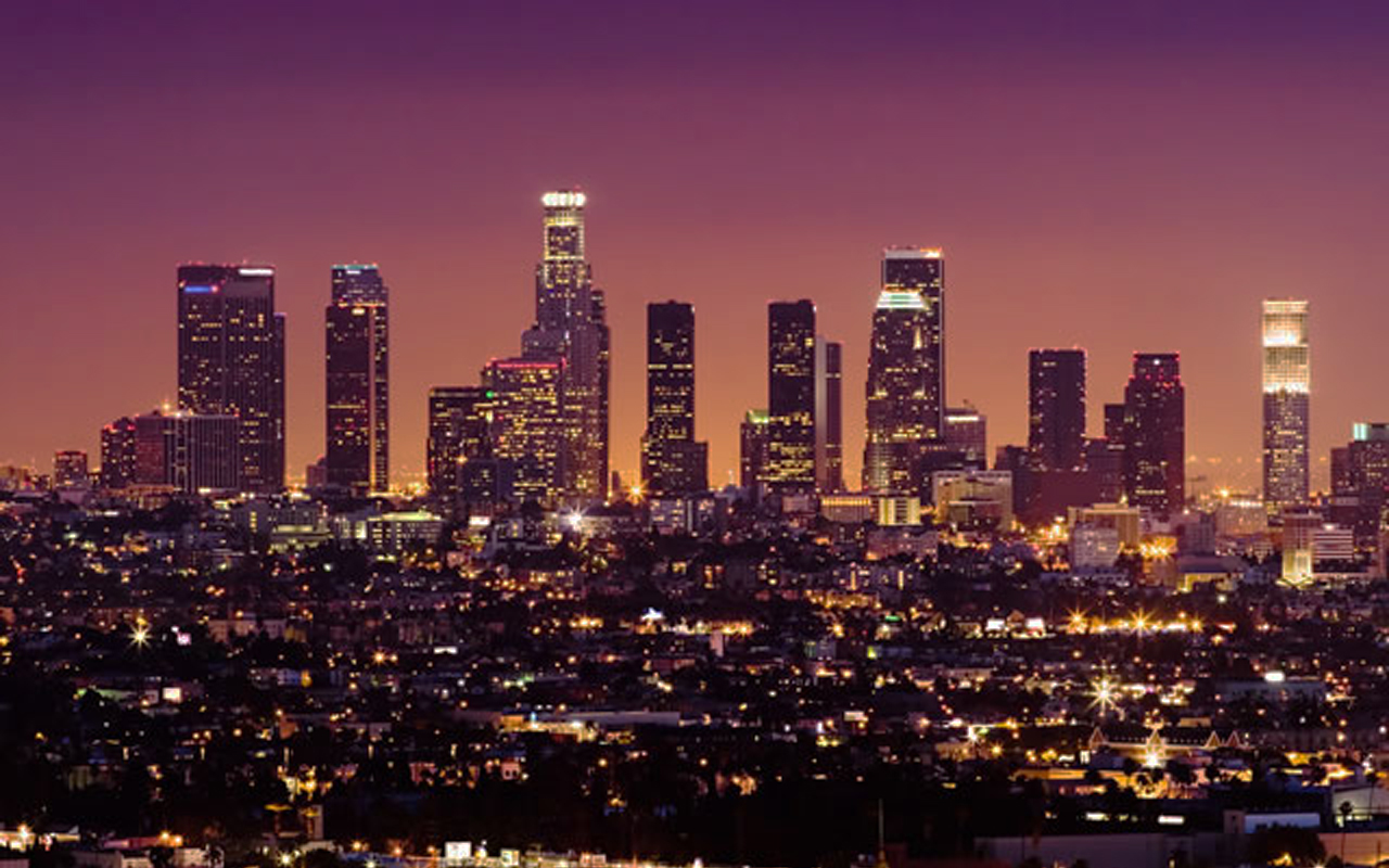... los-angeles-at-night-wallpaper-buildings ...