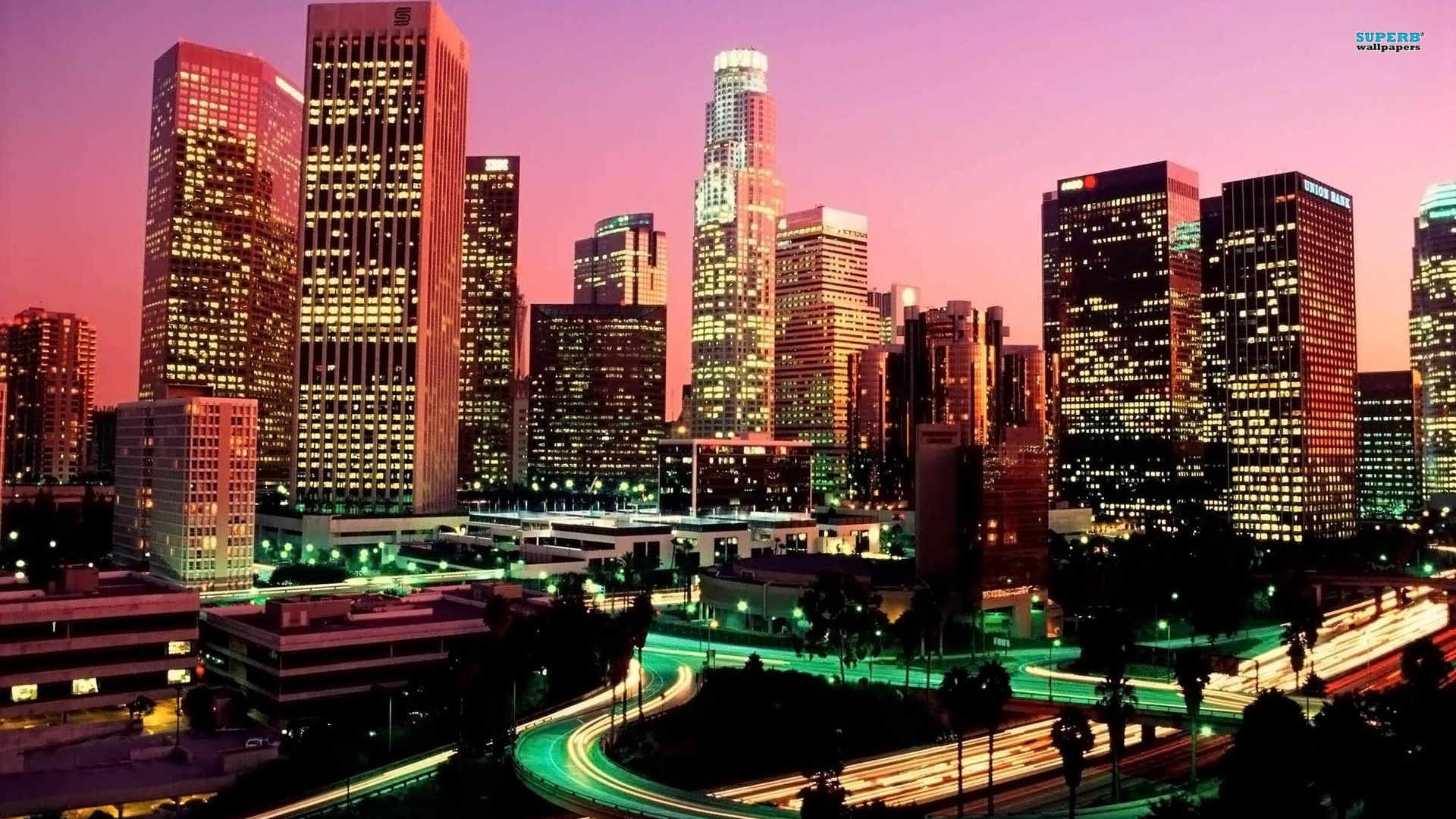 Los Angeles wallpaper 1920x1080 jpg
