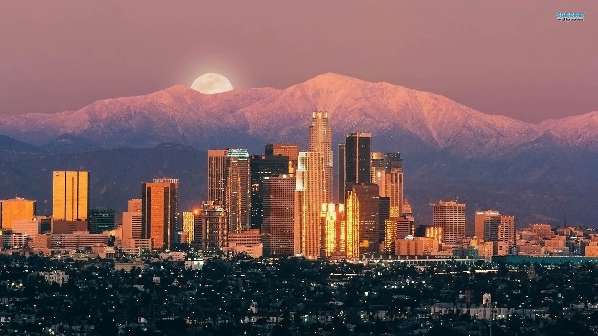 Los Angeles wallpaper 1920x1080
