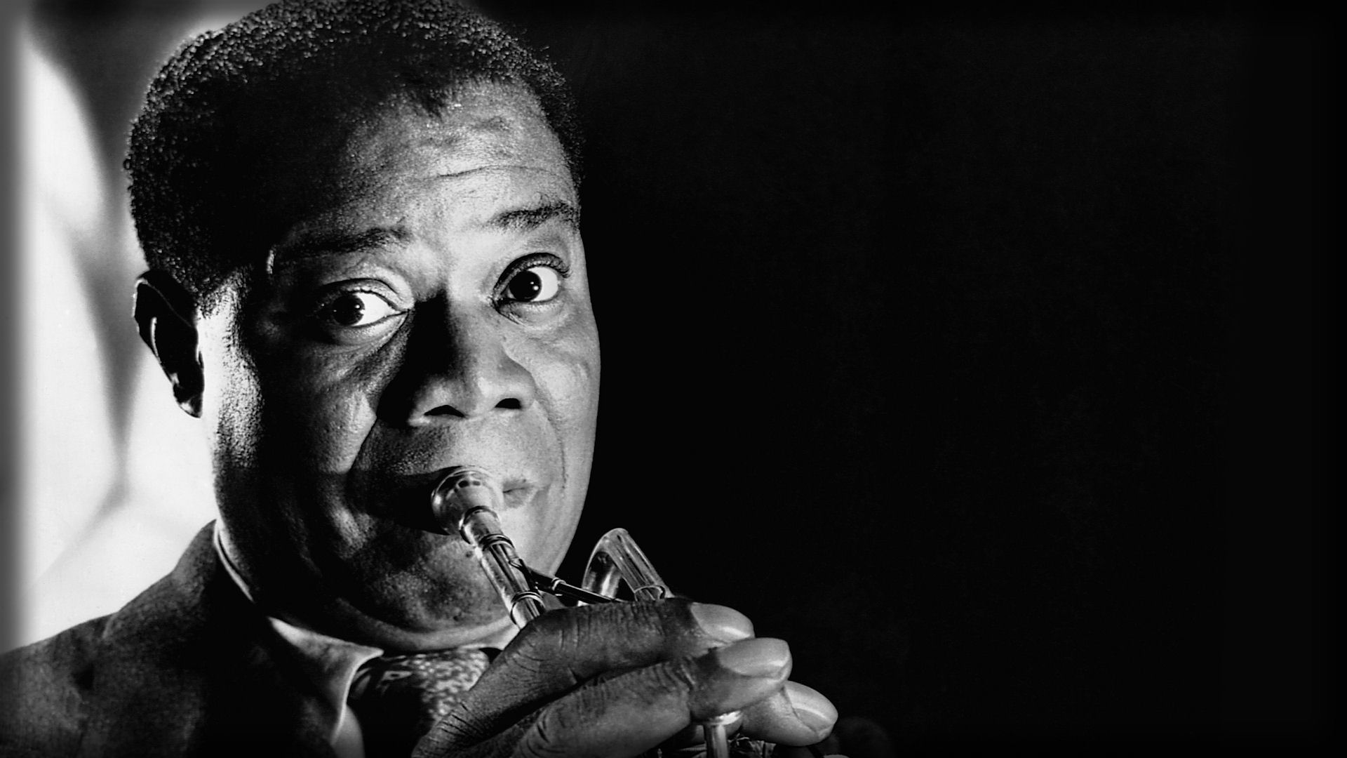 Louis Armstrong backdrop wallpaper