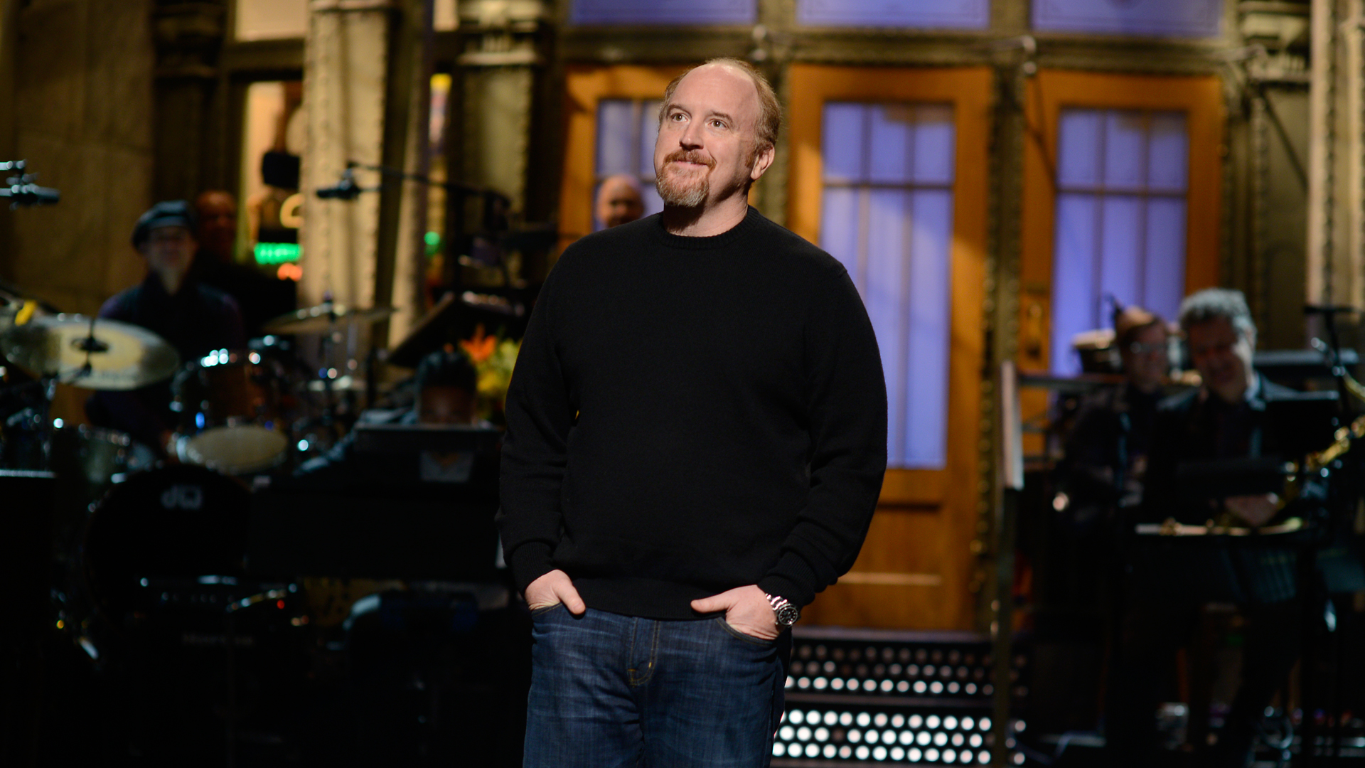 Watch Monologue: Louis C.K. on Third World Hunger and Wife Beater Shirts From Saturday Night Live - NBC.com