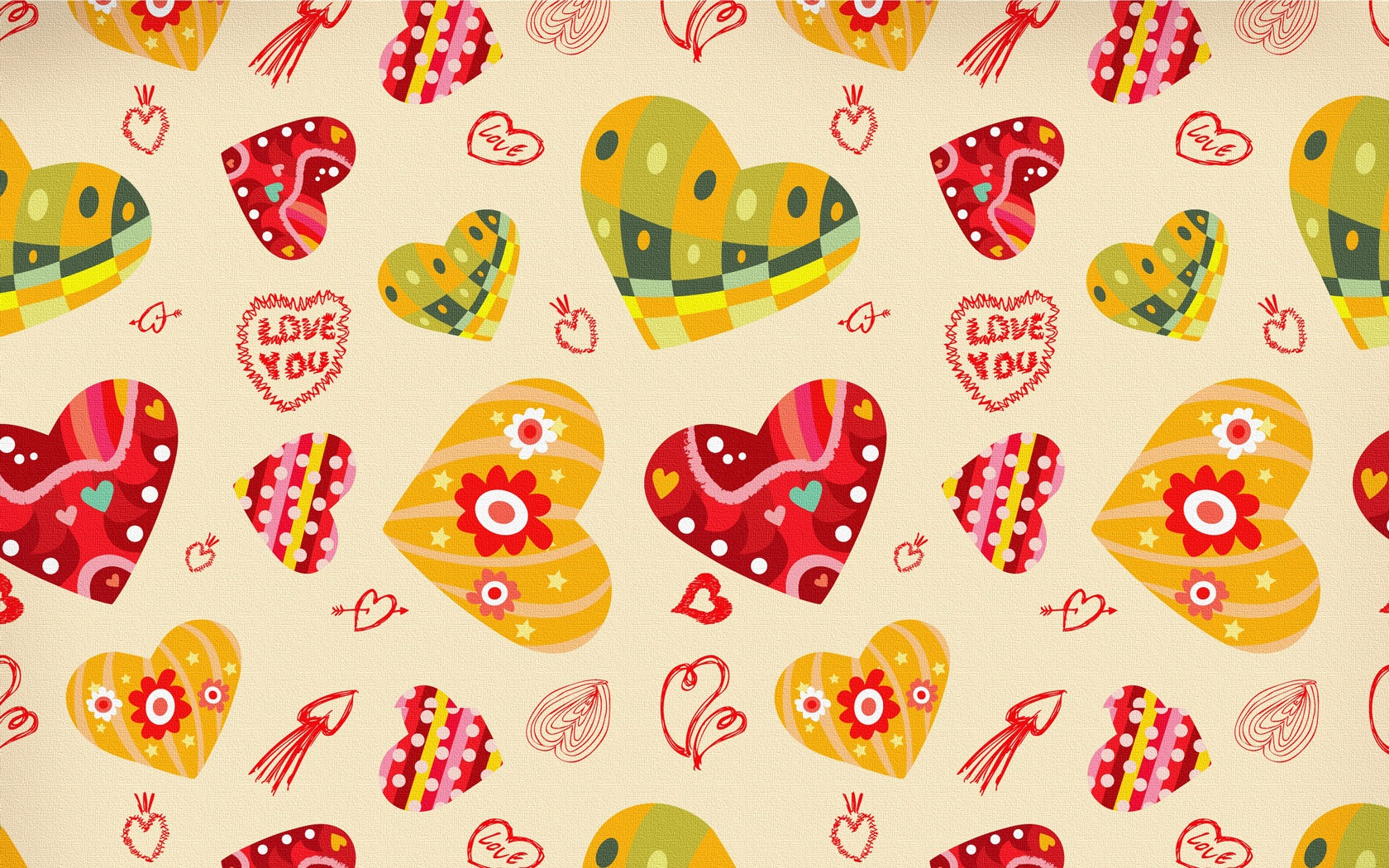 Cute Love Pattern