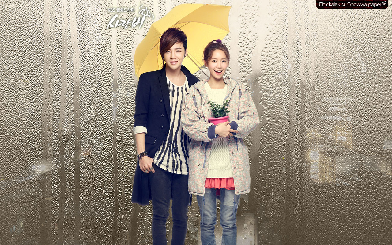 Love Wallpaper In Rain : Love Rain wallpaper 1280x800 #83894