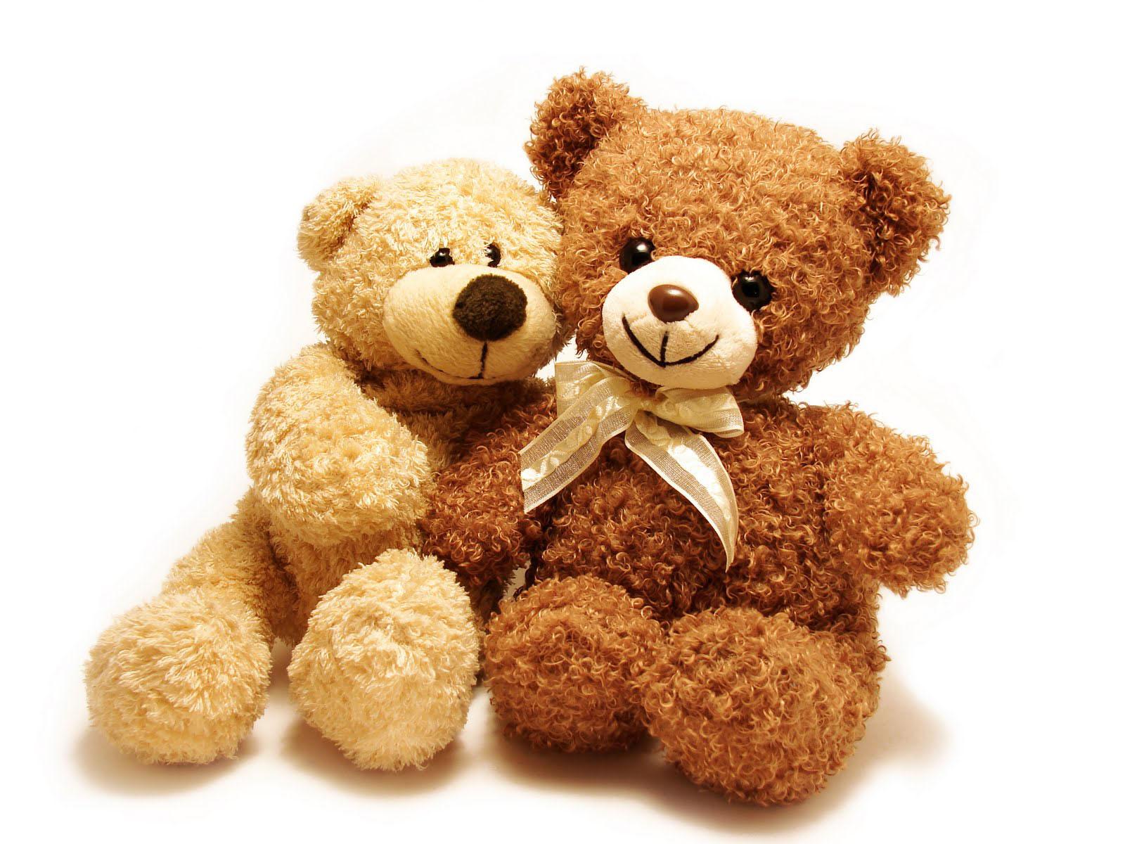 I Love Teddy Bear Wallpaper