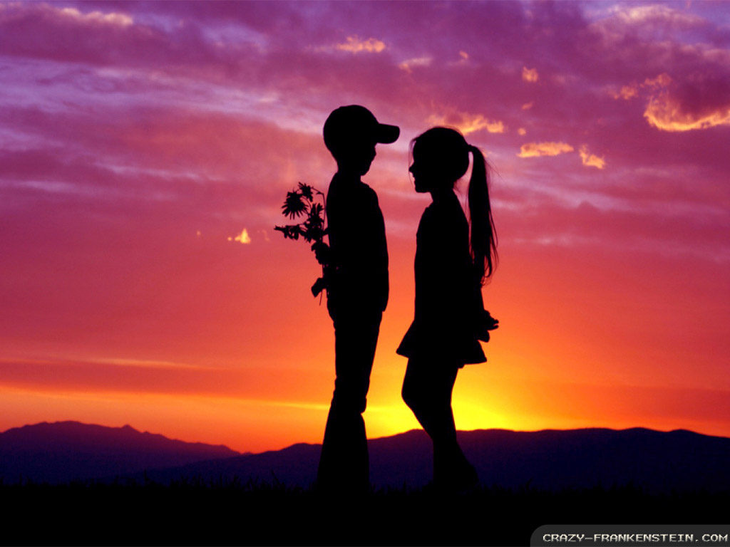 Love cute Romantic Wallpaper : Love wallpaper 1024x768 #38985