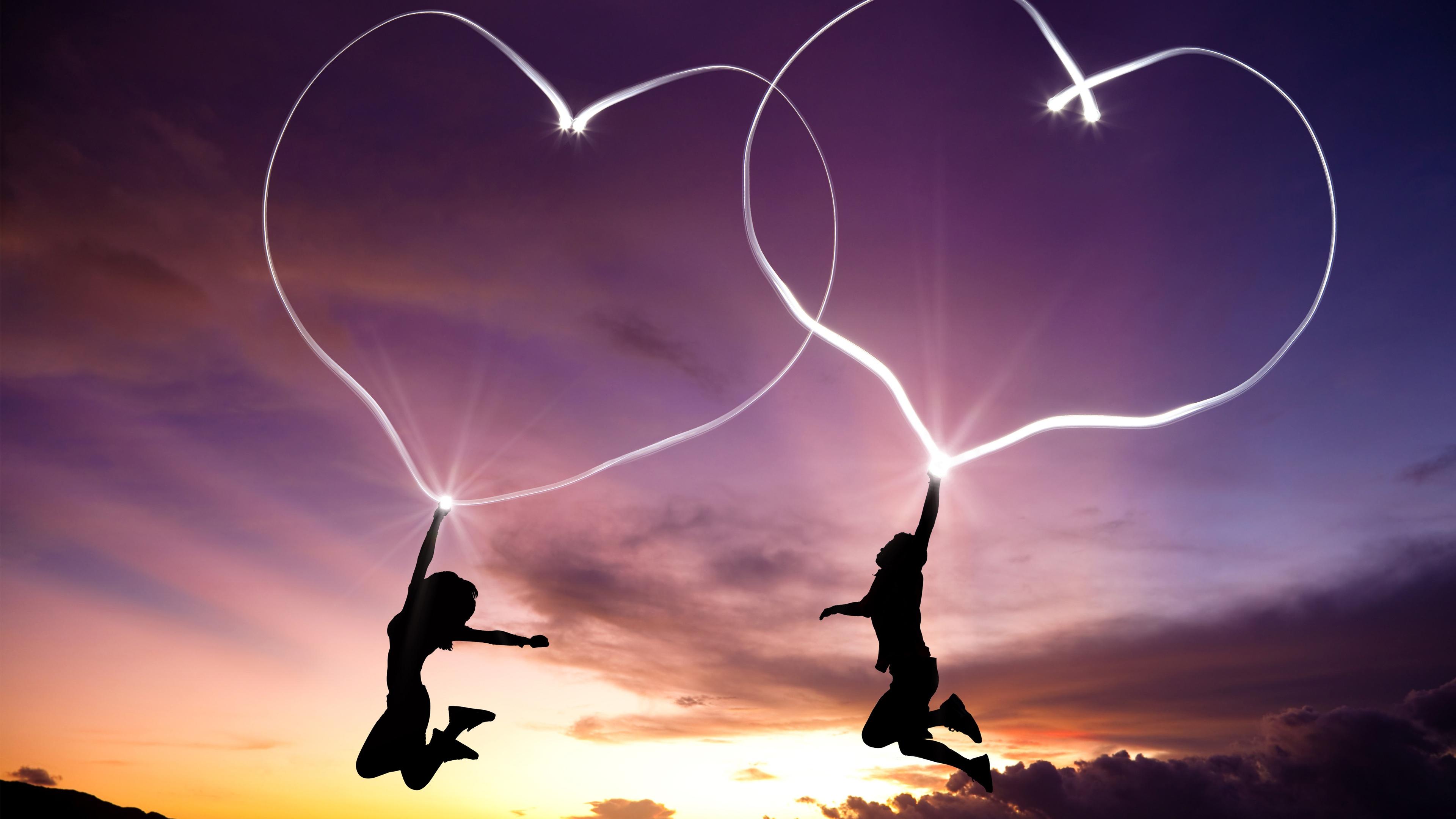 Love Hearts Pair