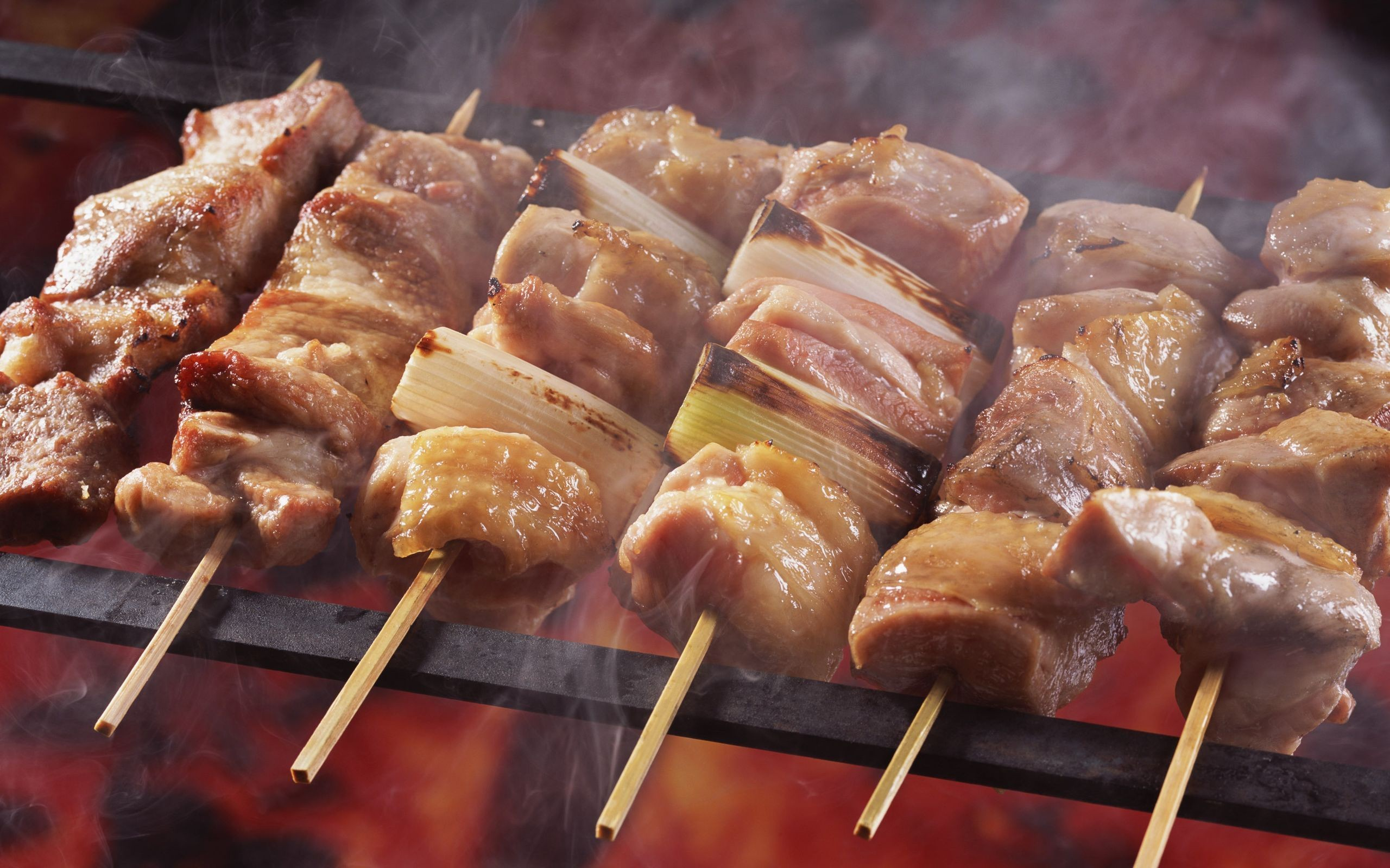 Lovely Barbecue Wallpaper