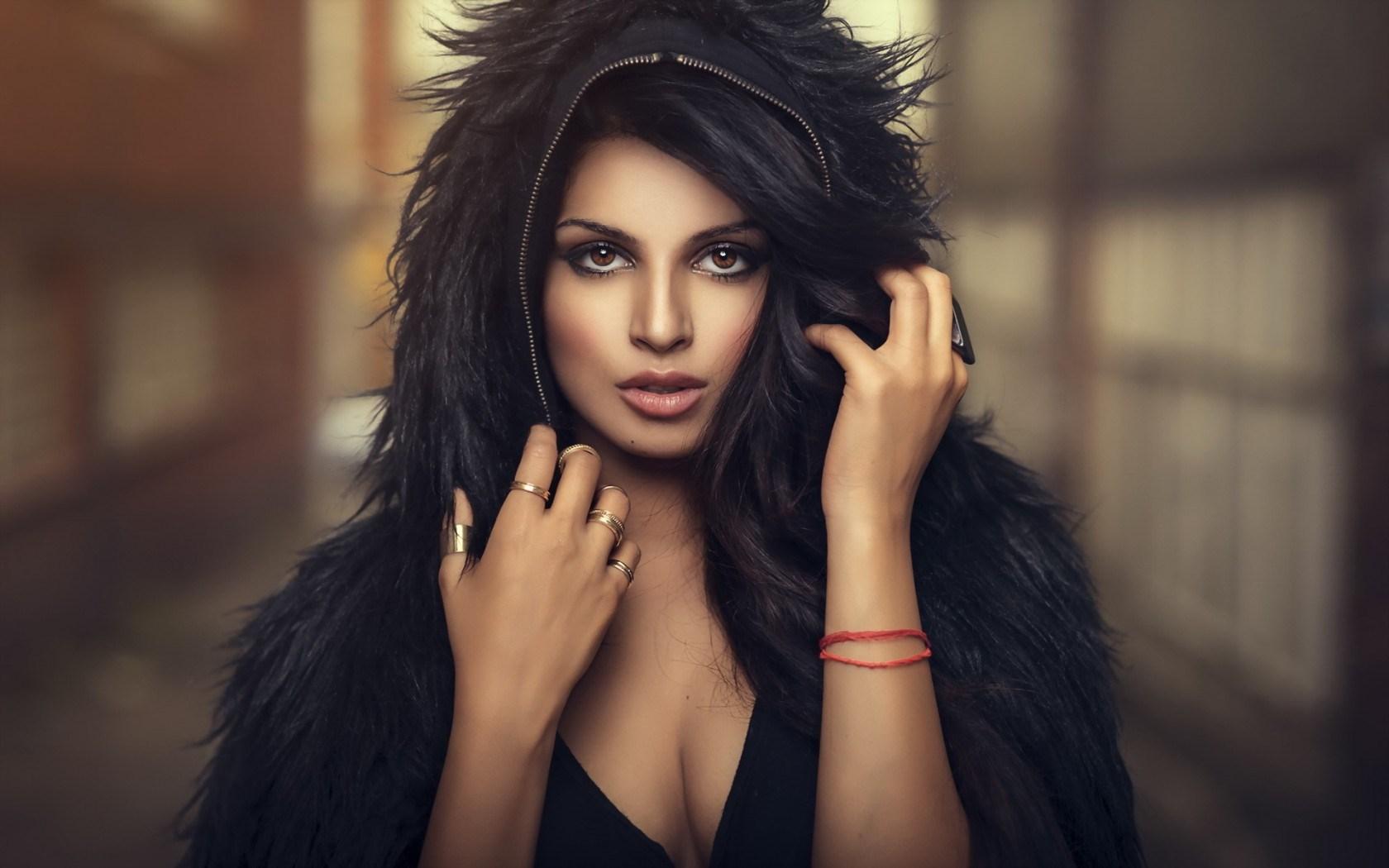 Lovely Brunette Woman