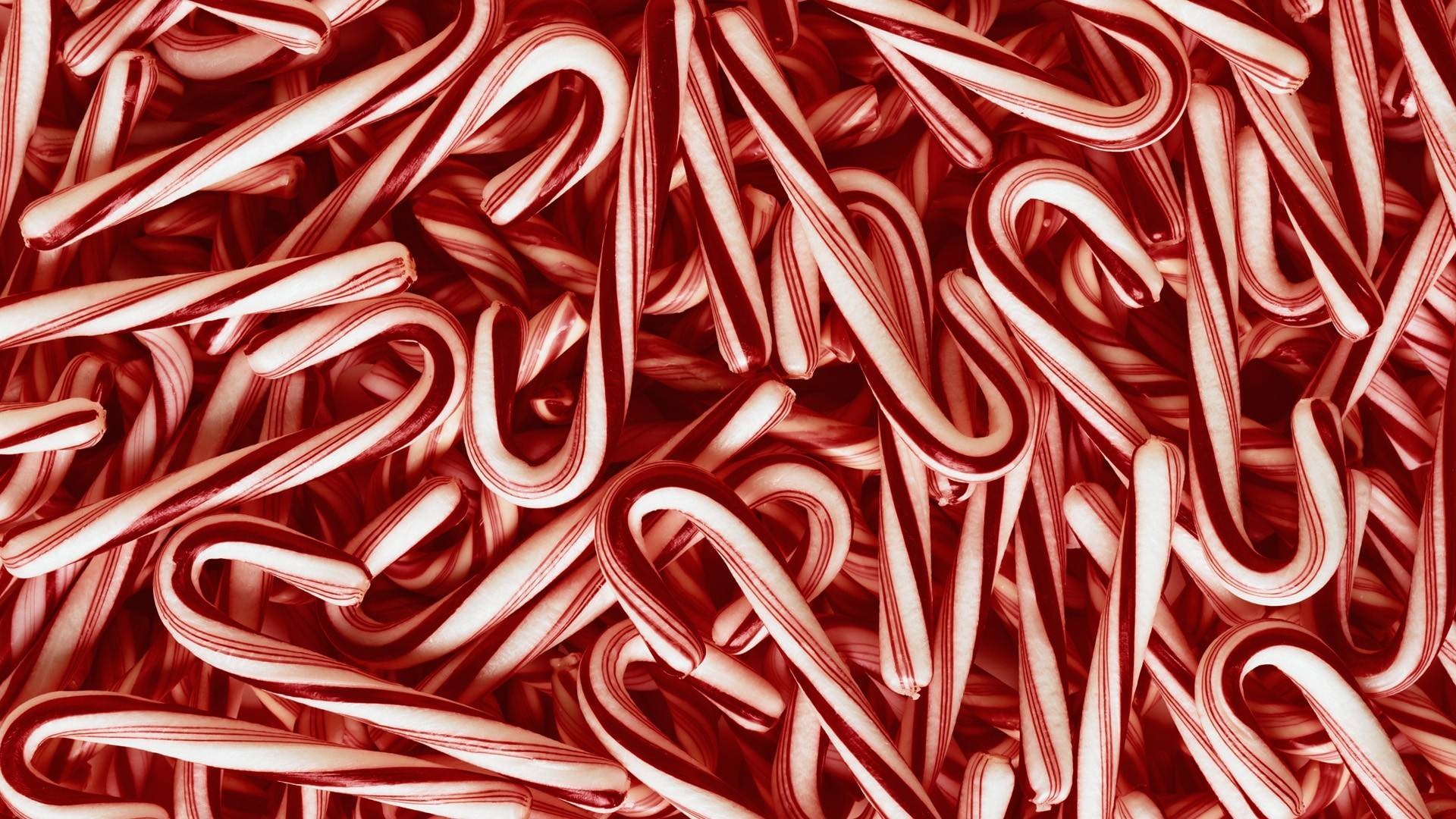 Lovely Candy Cane Wallpaper