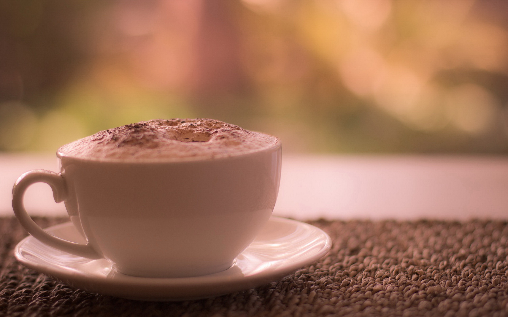 Lovely Cappuccino Wallpaper 38664 1920x1200 px
