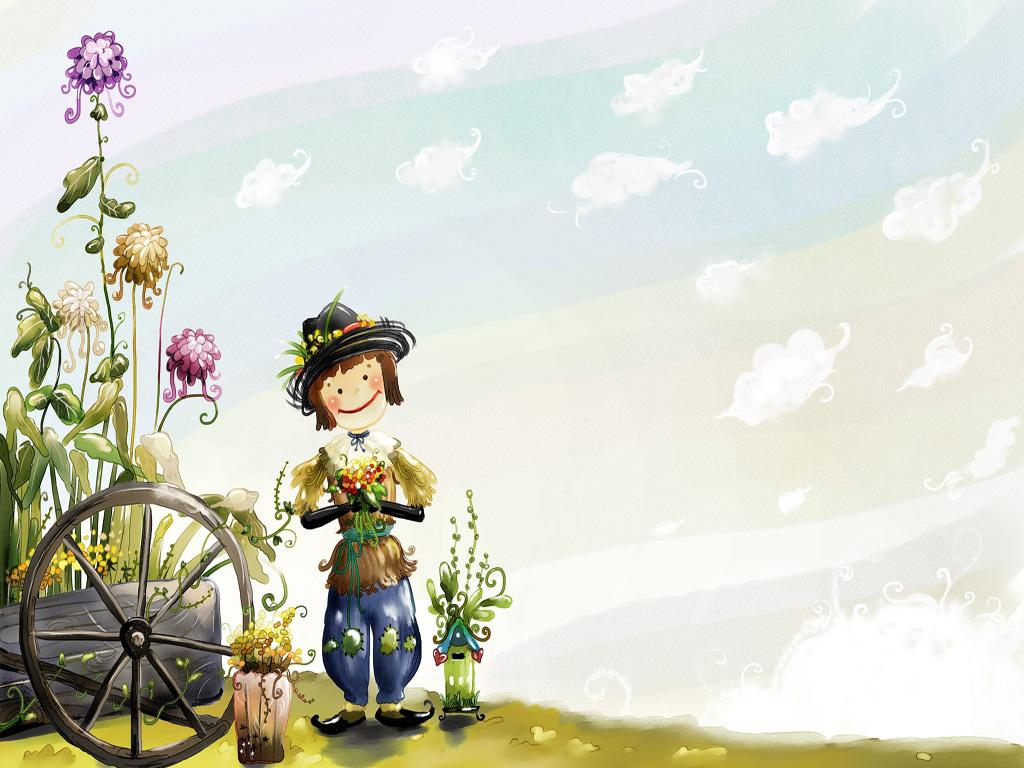 Lovely Cartoon Wallpaper 40620 1600x1200 px