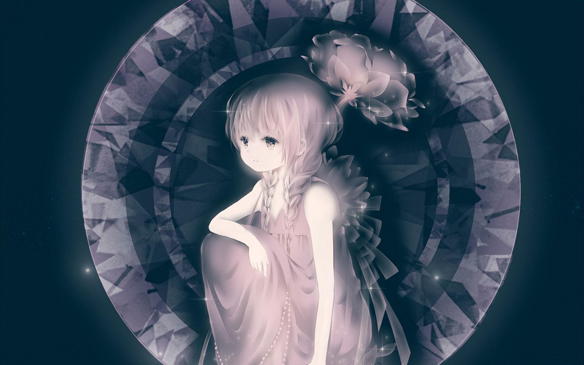 Lovely Girl Anime Art