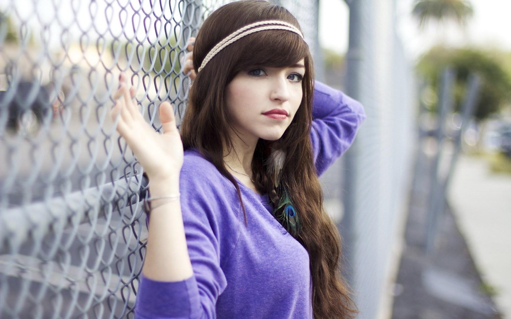 Lovely Girl Background