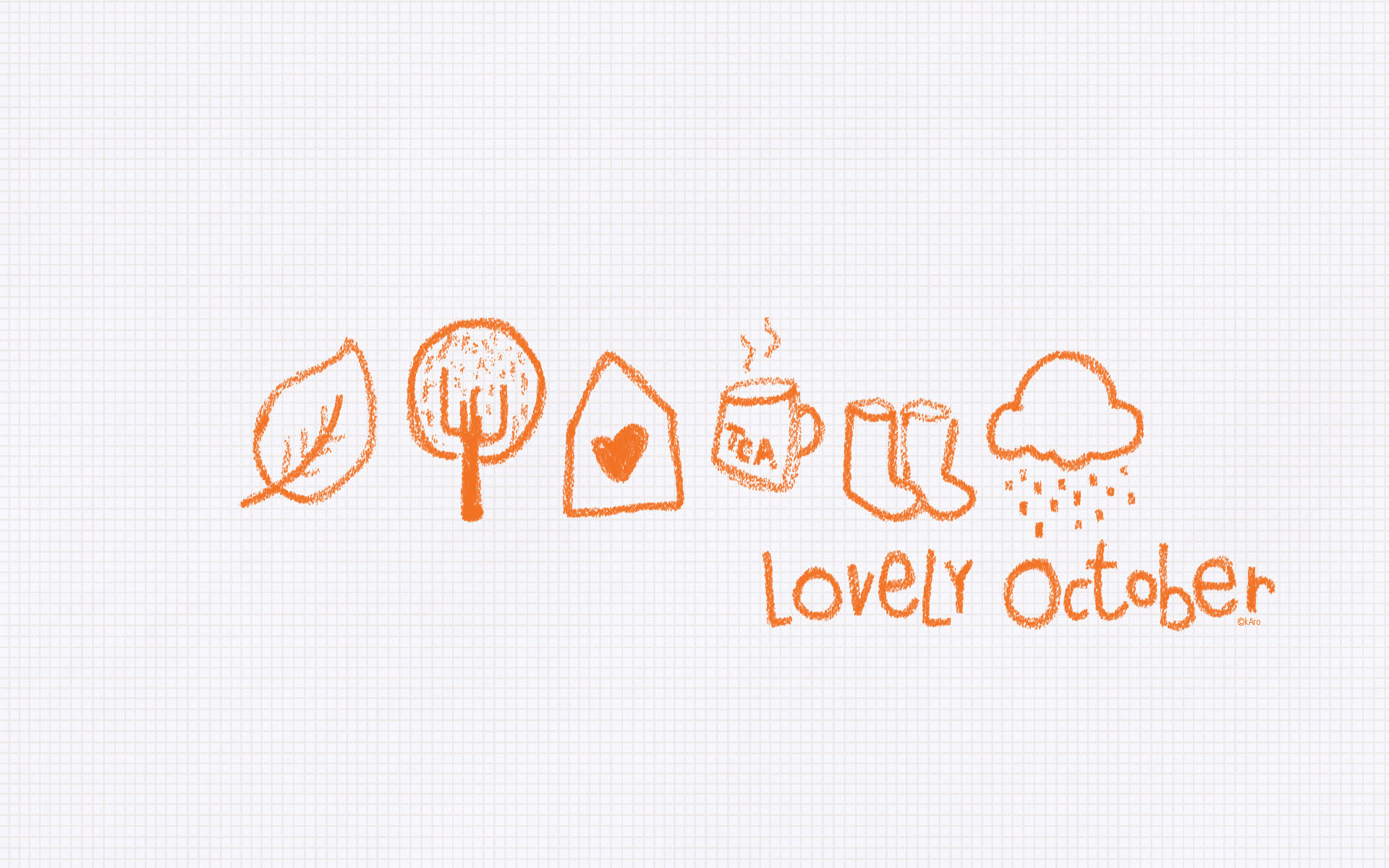 Lovely October Art