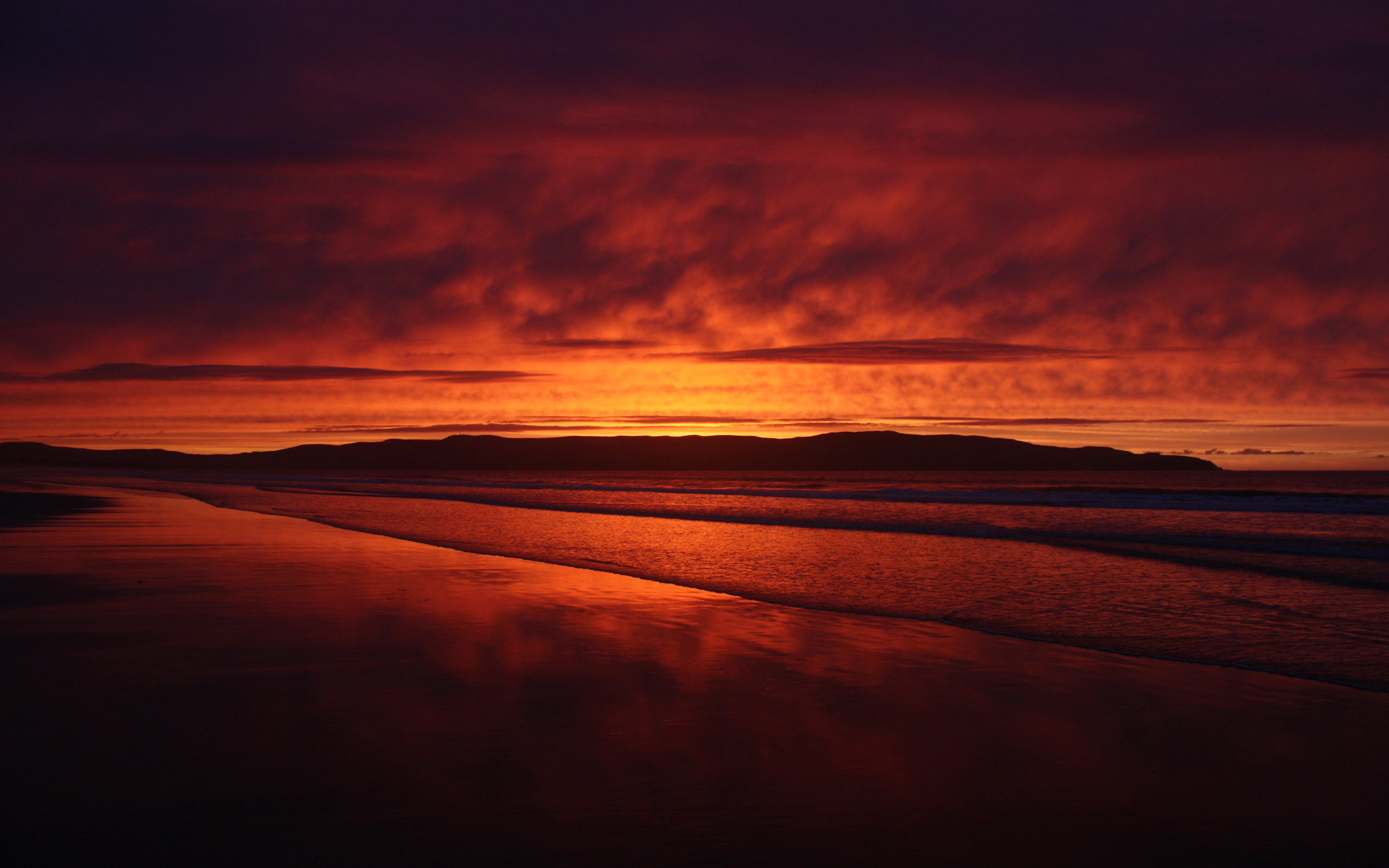 Lovely Orange Sunset