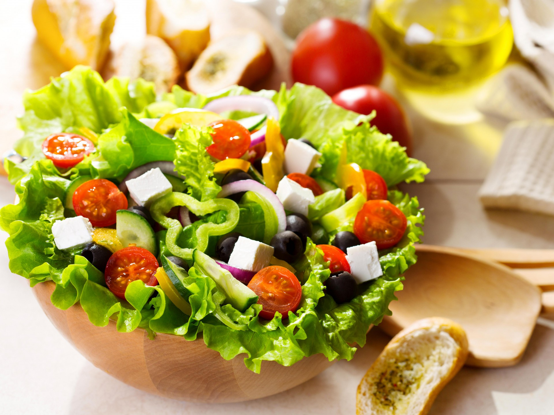 Lovely Salad Wallpaper