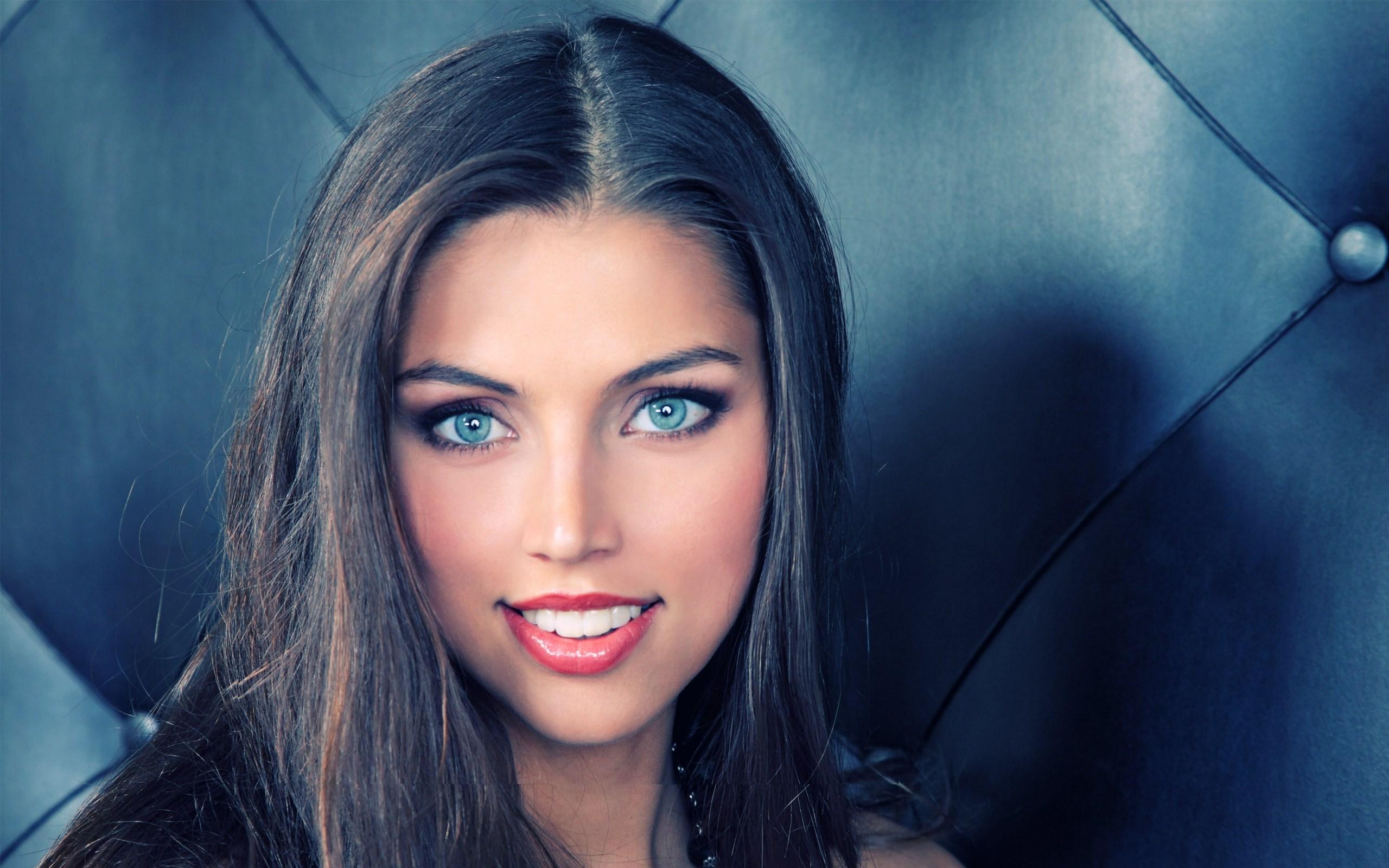 Lovely Smile Girl Portrait
