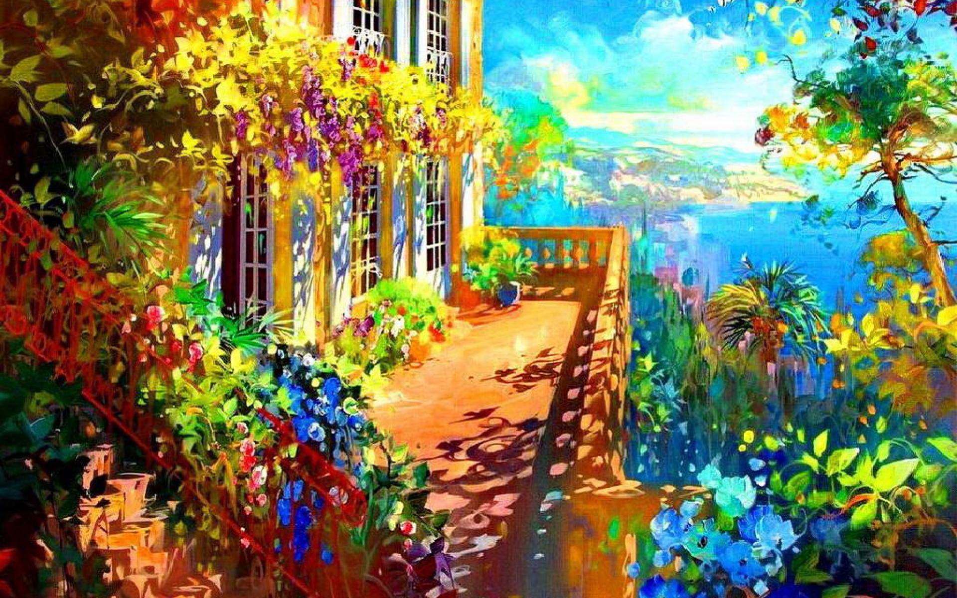 Lovely Sunny Day Wallpaper 12583