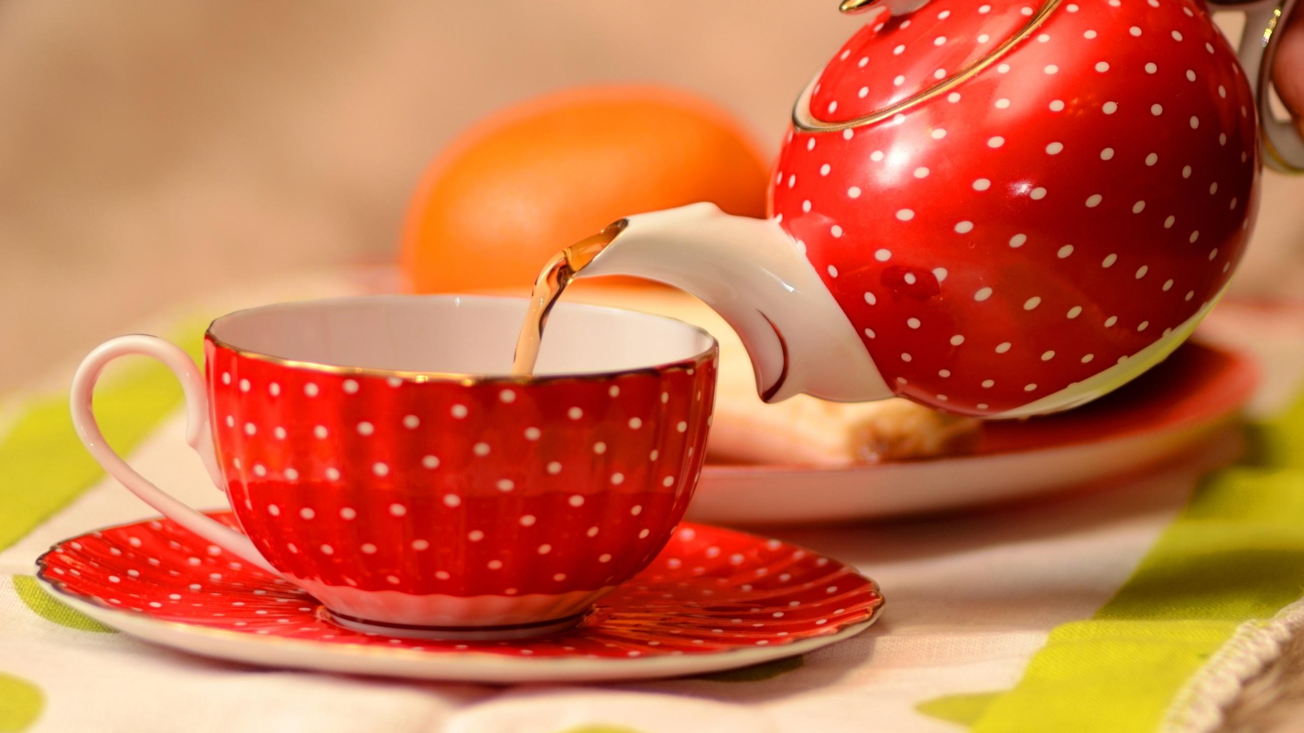 Lovely Tea Cup Wallpaper