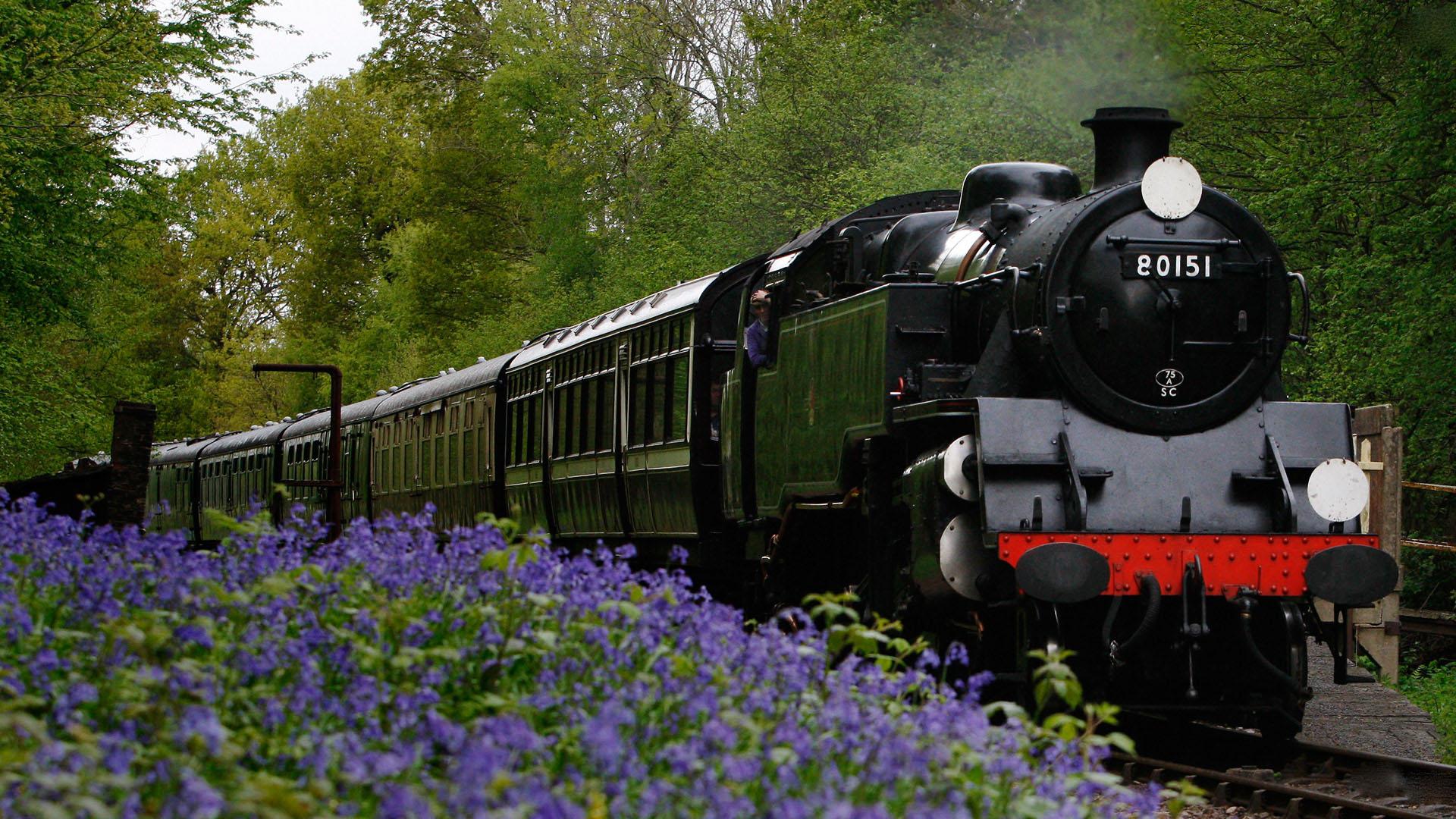 Lovely Train Wallpaper