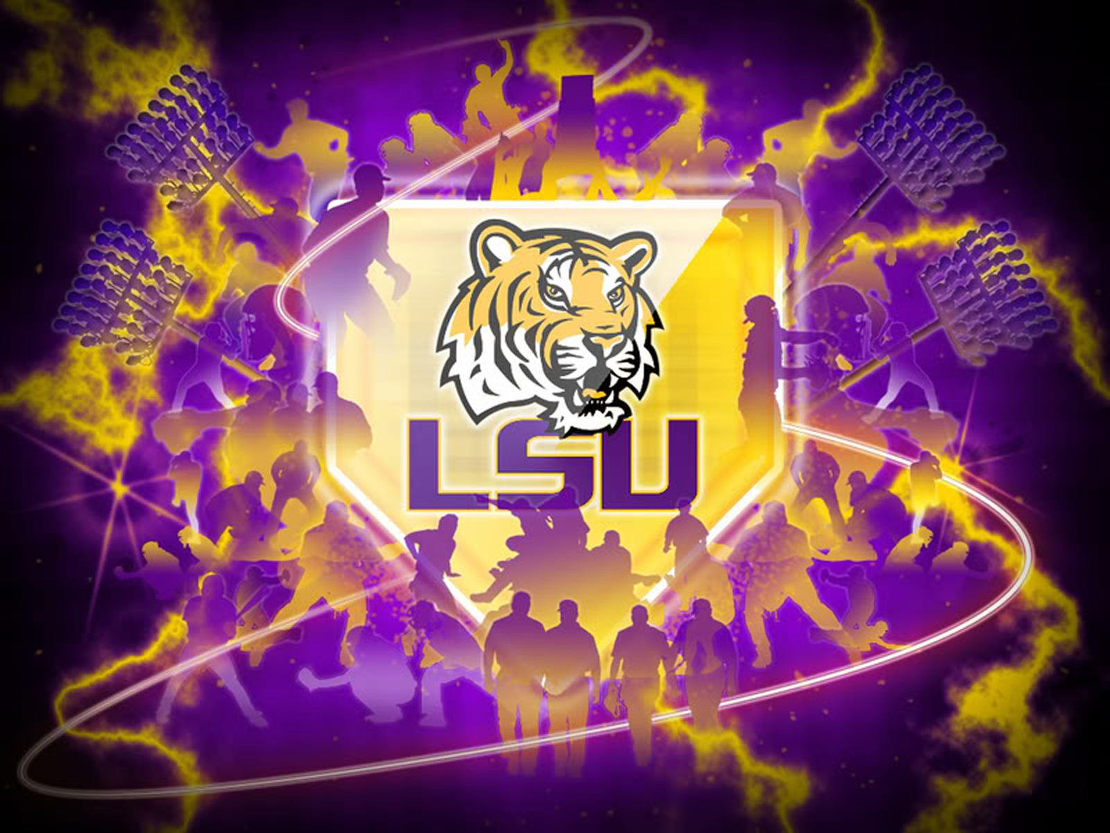 Lus Tiger Logo HD Wallpaper
