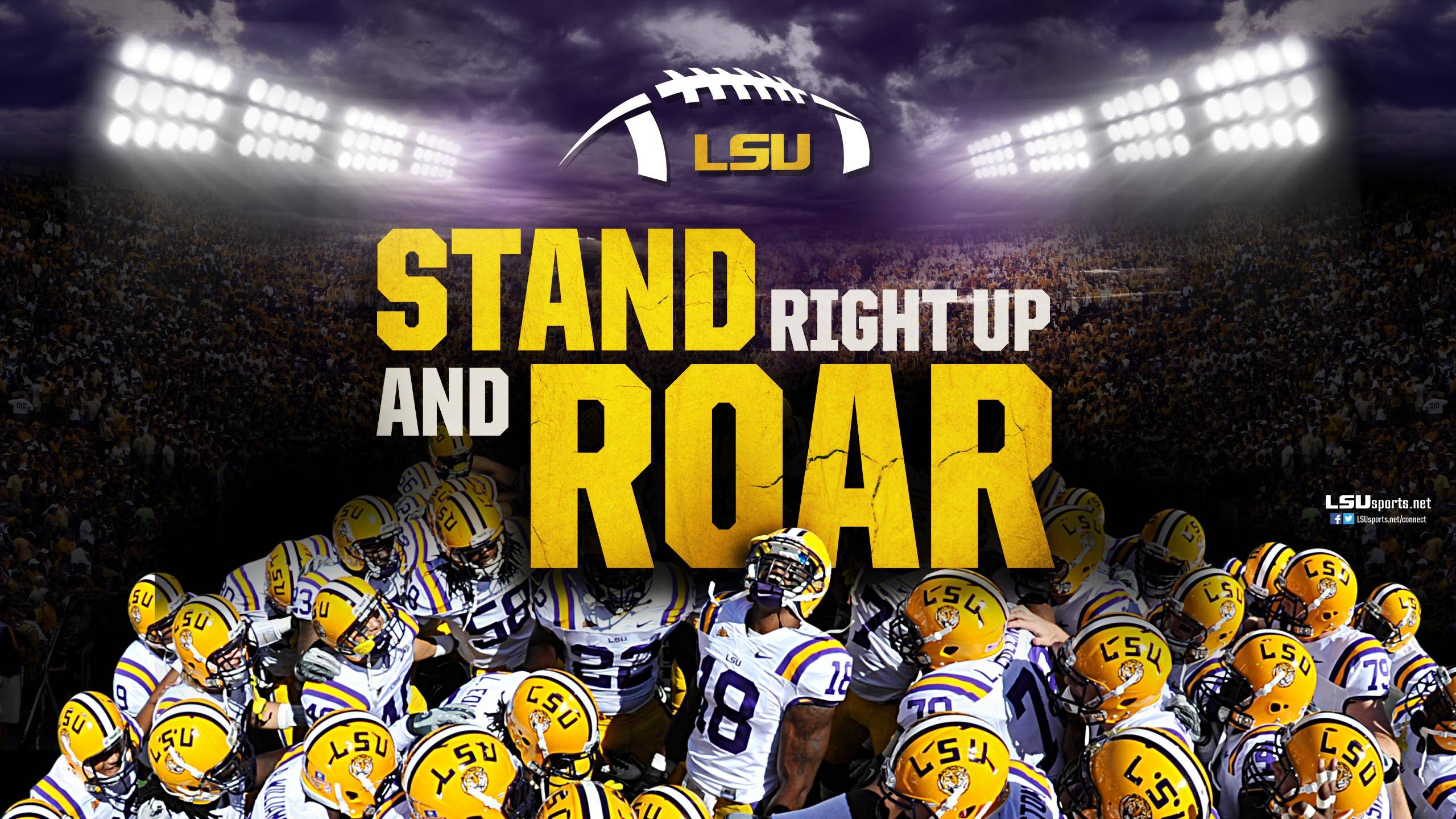Stand and Roar Lsu Wallpaper