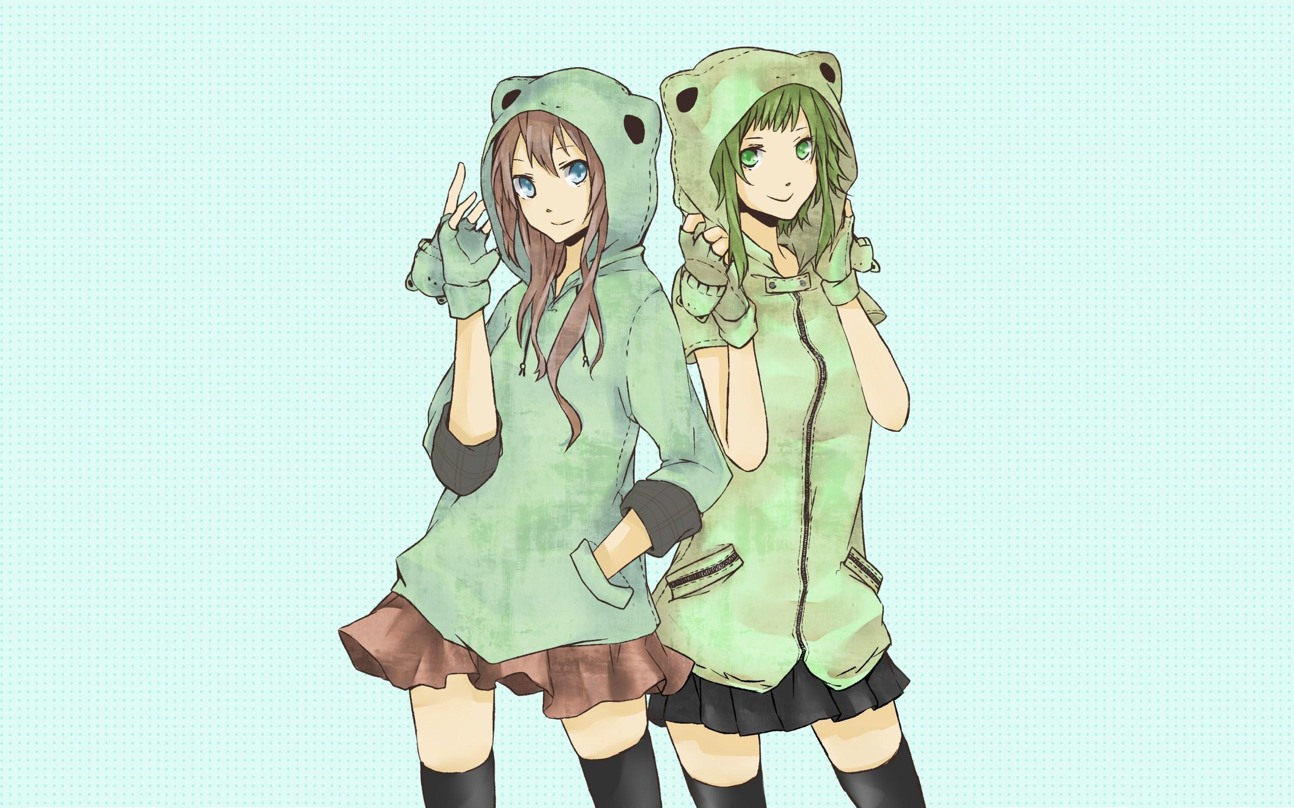 Luka and Miku Anime